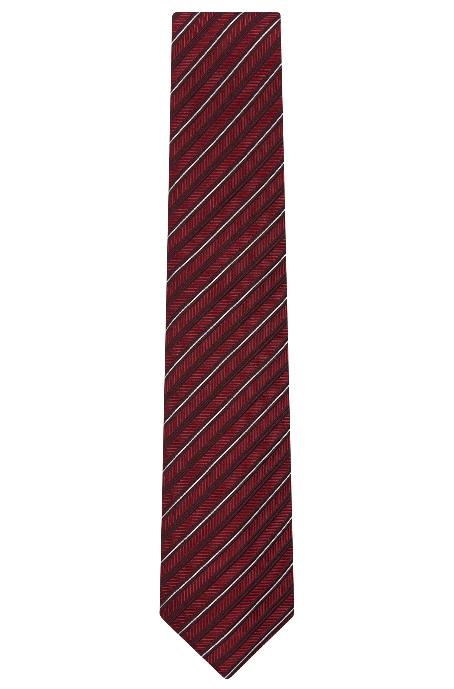 Jacquard Italian Silk Wool Tie   Tie 7.5 cm