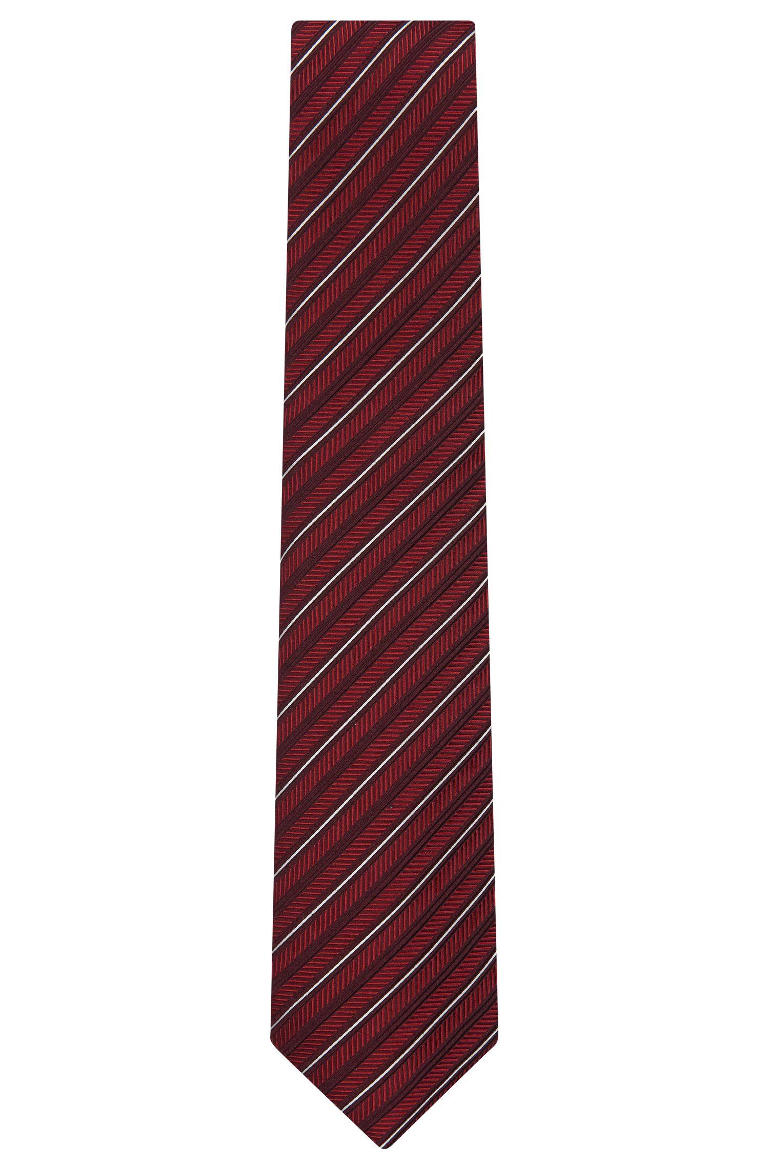 'Tie 7.5 cm'   Regular, Jacquard Silk Wool Tie