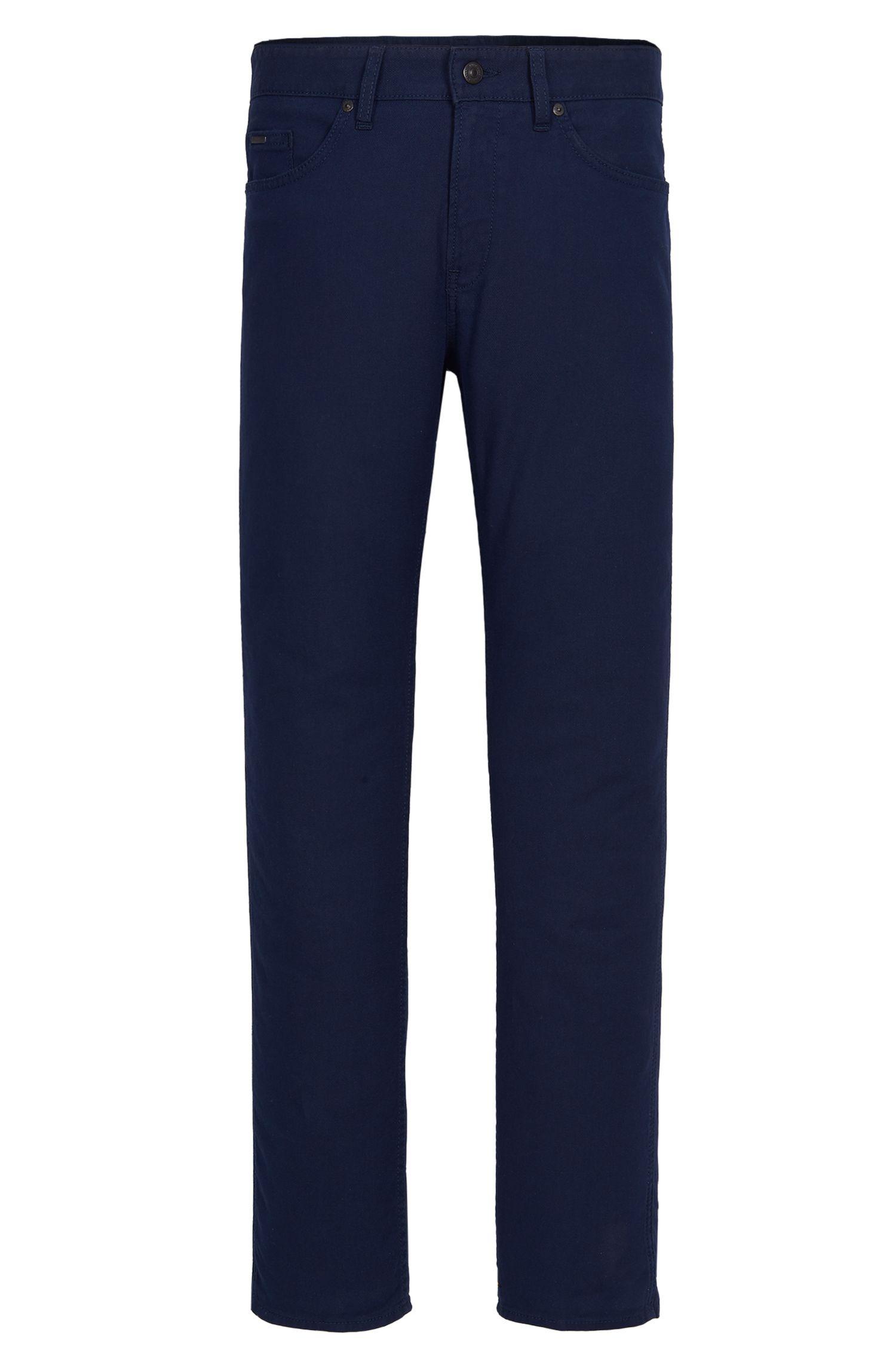 10 oz Stretch Cotton Blend Pants, Slim Fit | Delaware