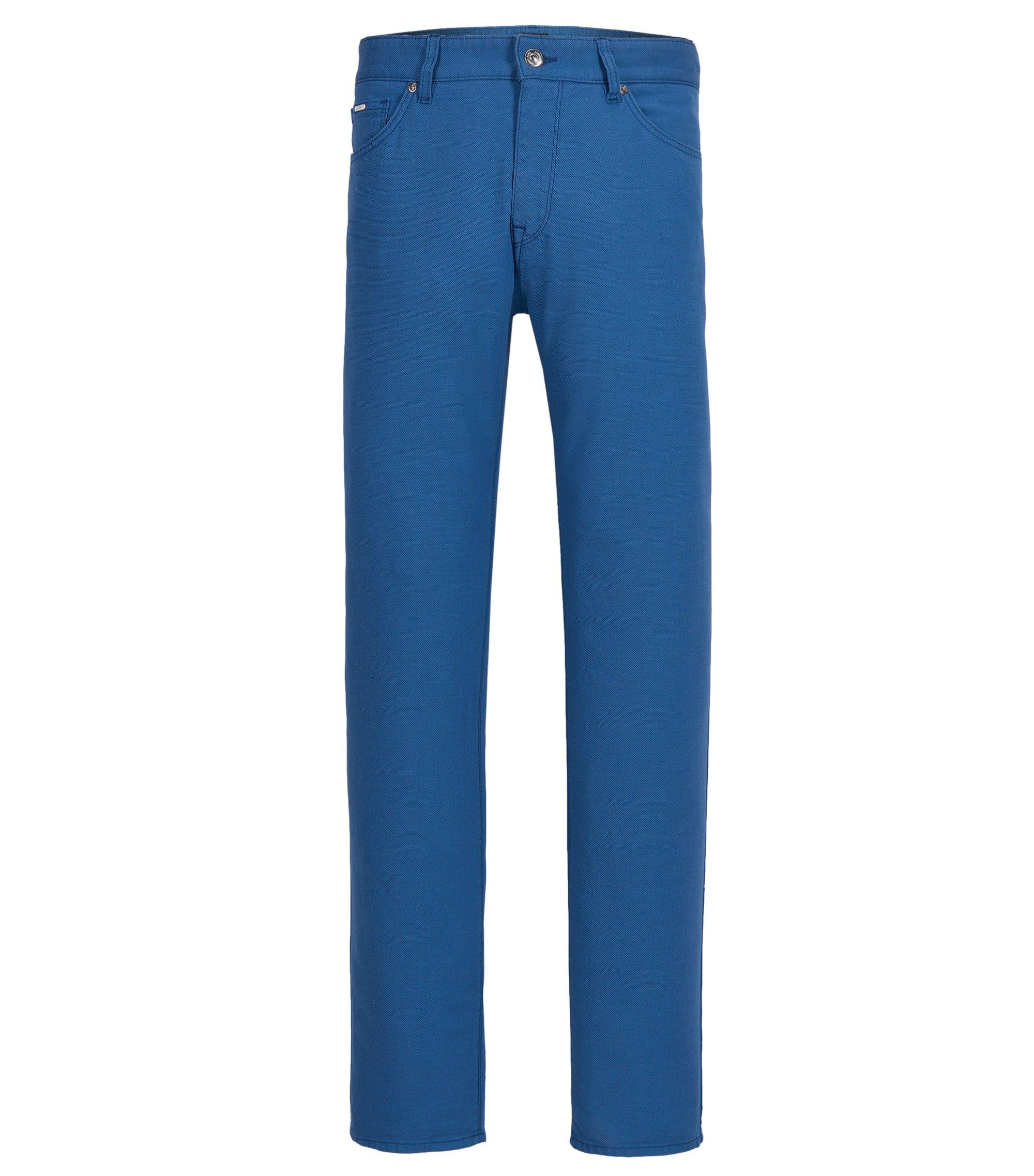 Stretch Cotton Pants, Regular Fit | Maine, Open Blue