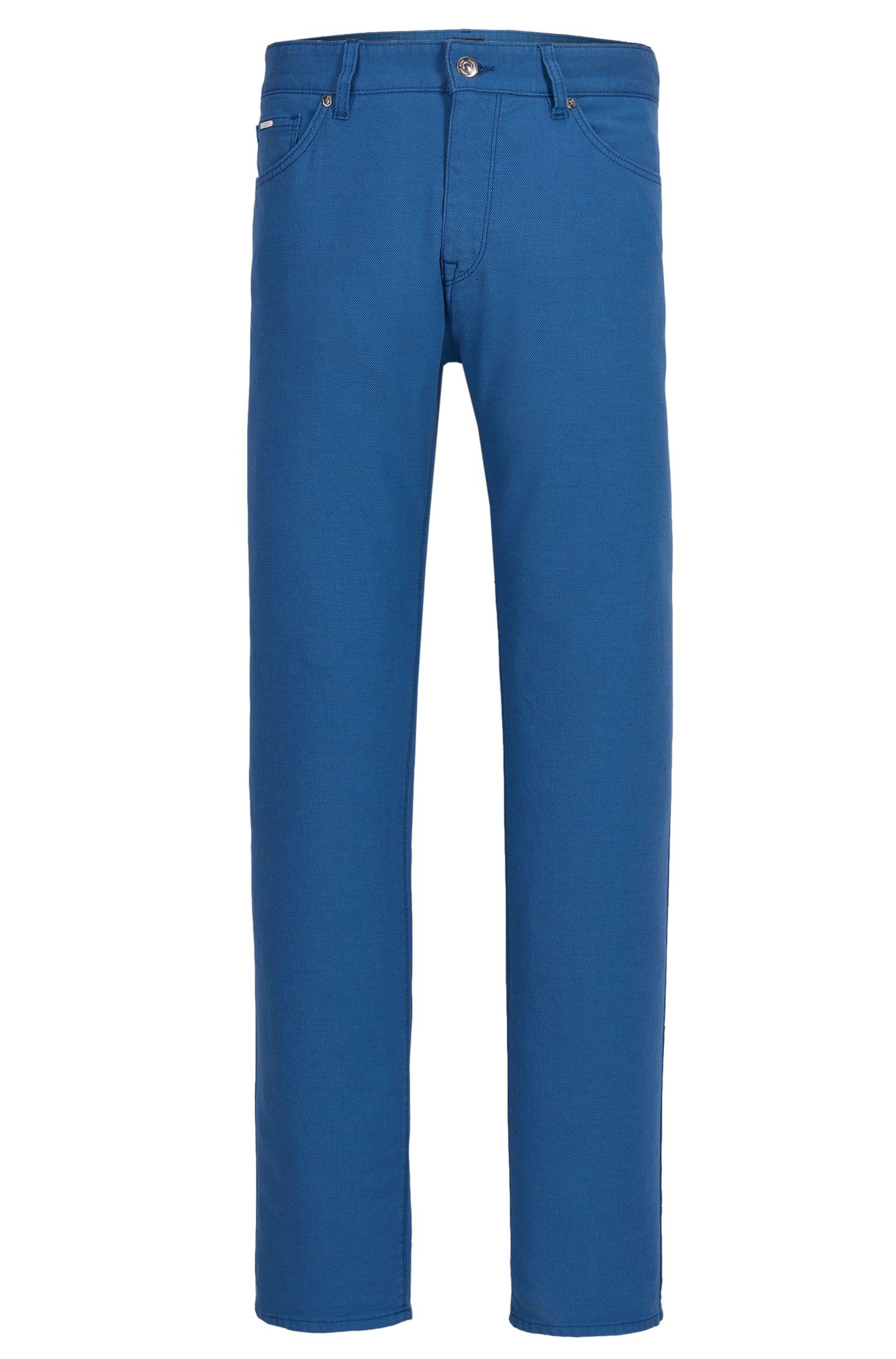 Stretch Cotton Pants, Regular Fit | Maine
