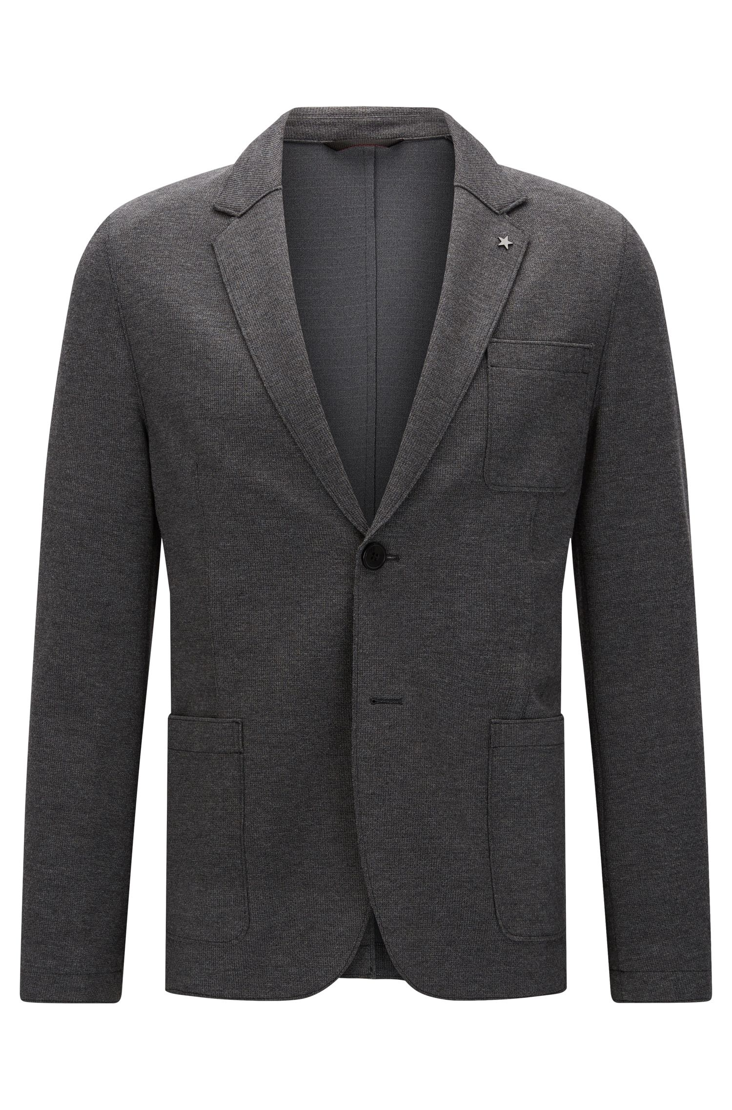 'Agalton'   Slim Fit, Patch Pocket Stretch Blend Sport Coat