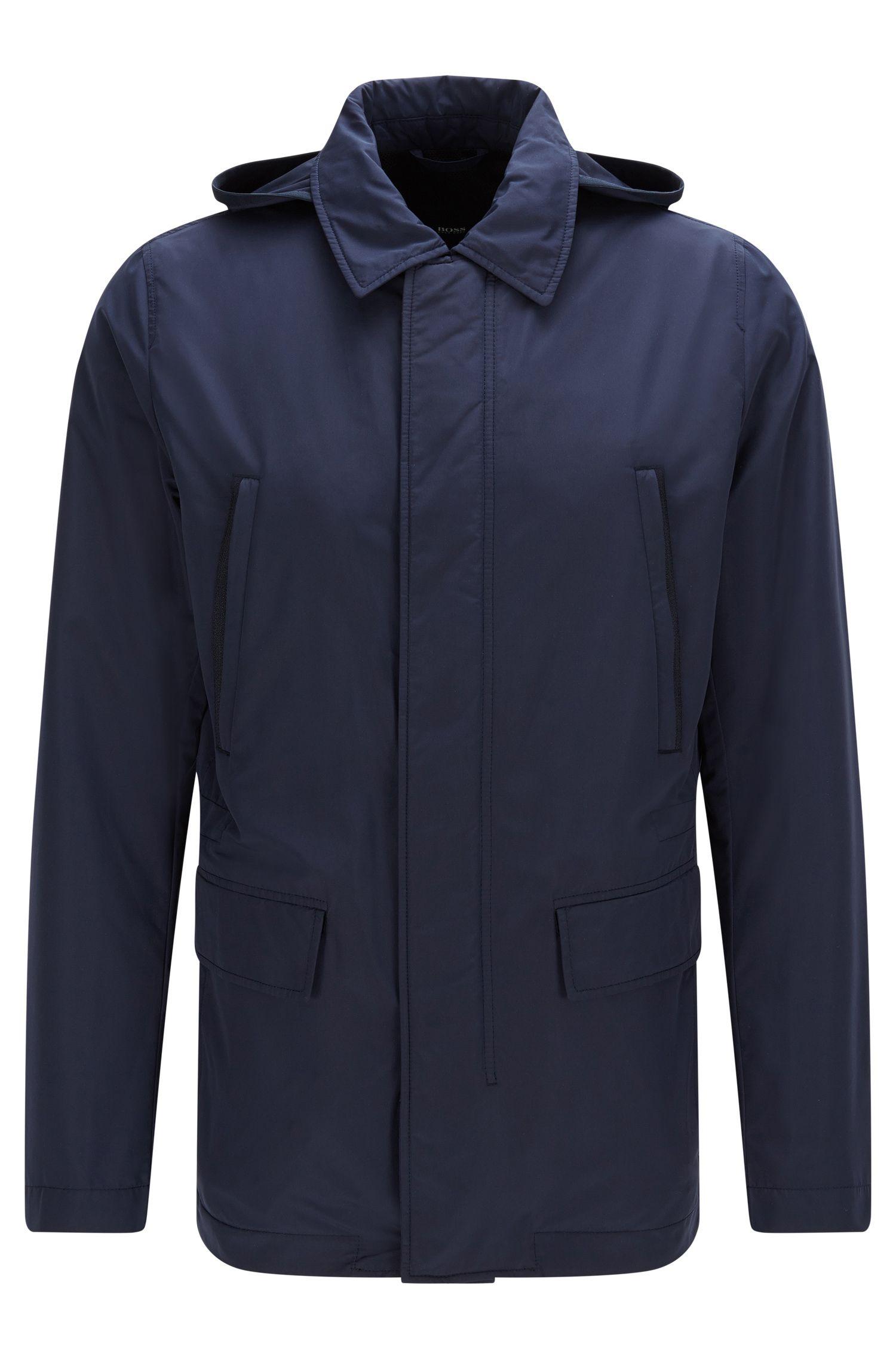 'Case' | Water-Repellent Nylon Jacket