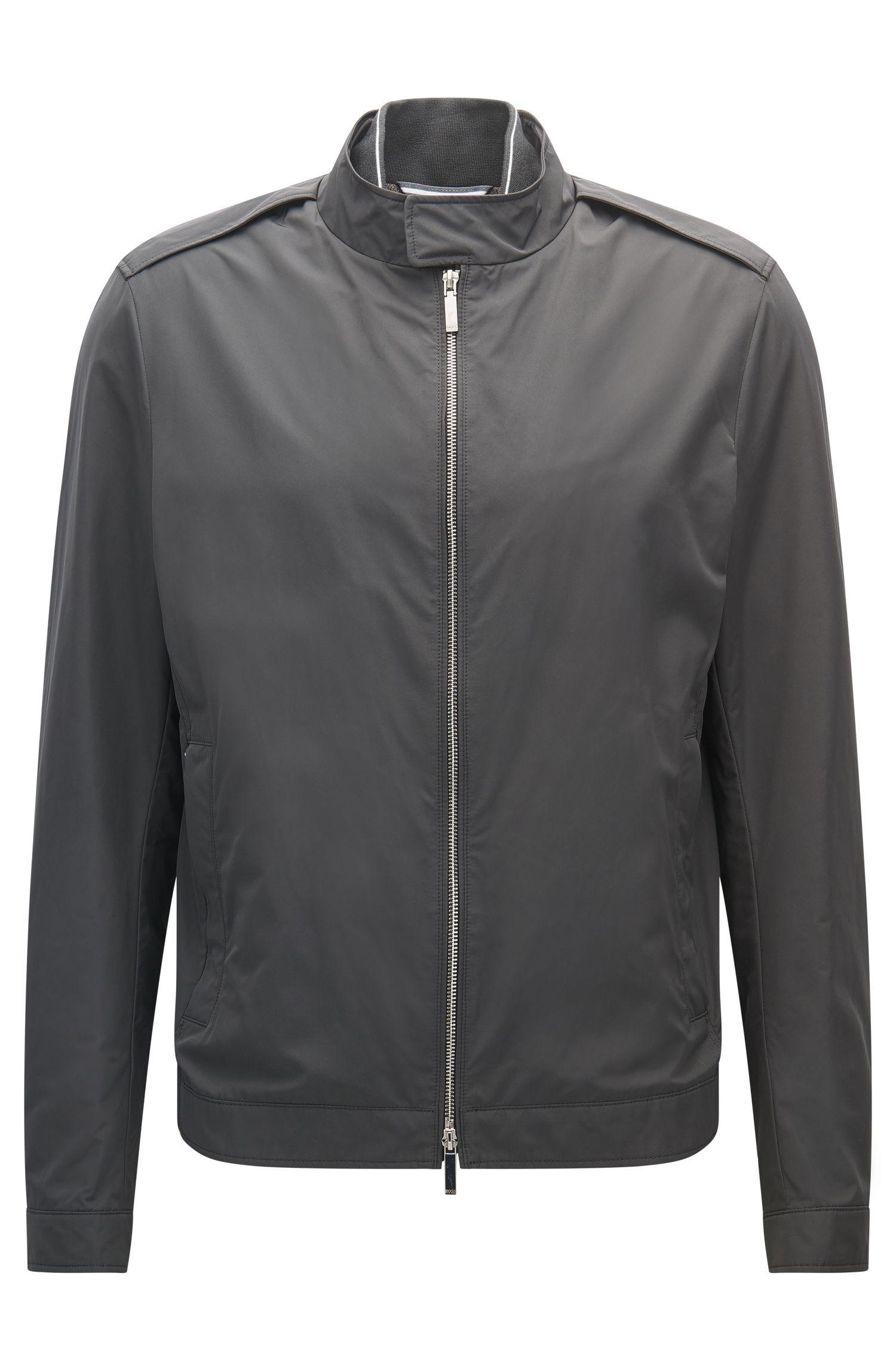 Water-Repellent Jacket | Cael, Dark Grey