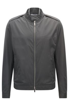 Water-Repellent Jacket | Cael, Dark Grey