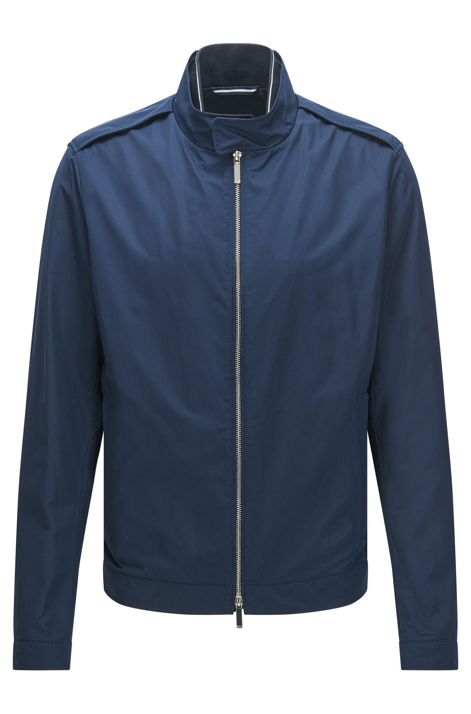 Water-Repellent Jacket | Cael, Dark Blue