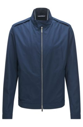 'Cael' | Water-Repellent Nylon Jacket, Dark Blue