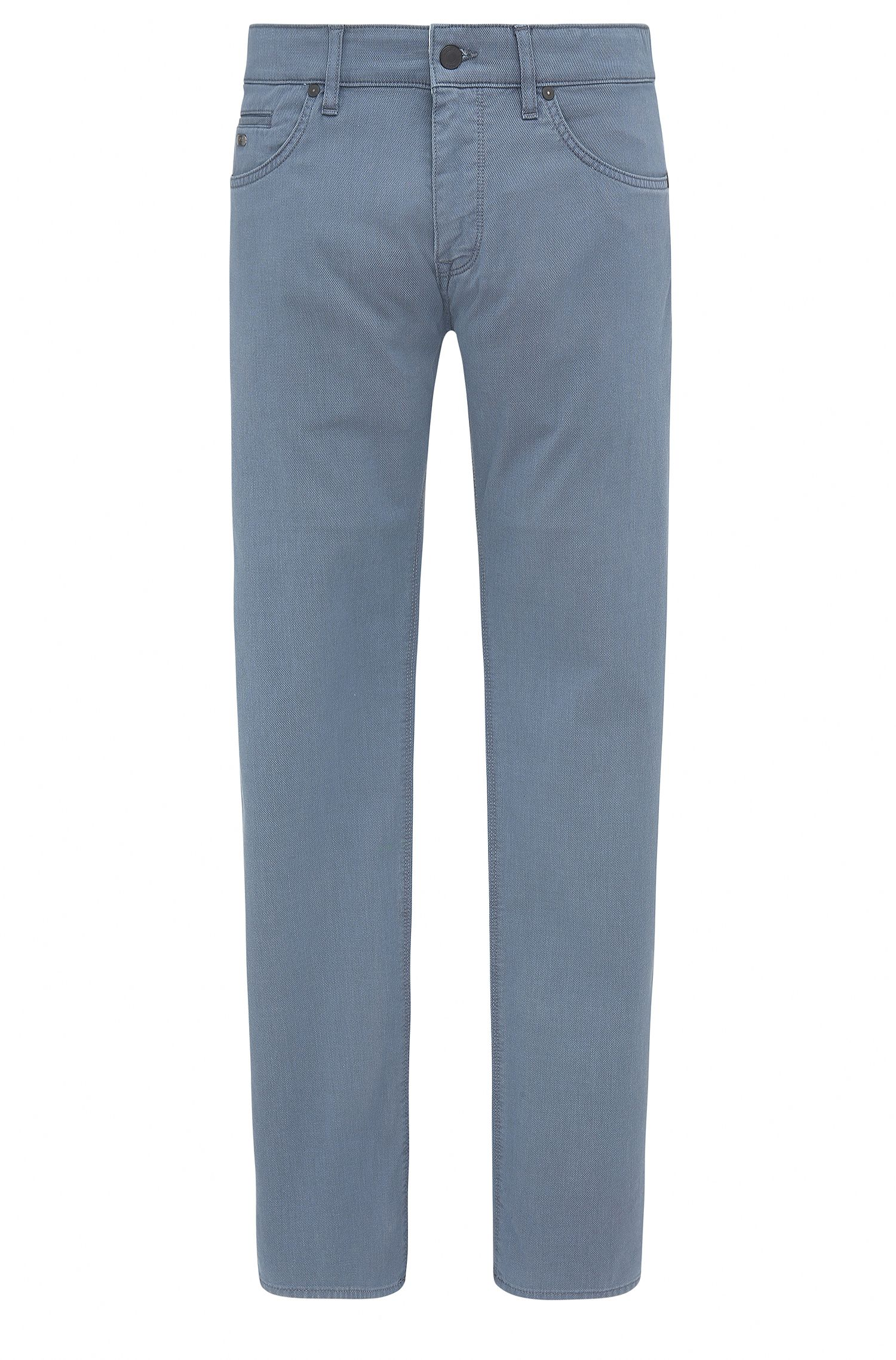 Stretch Cotton Jeans, Regular Fit   C-Maine