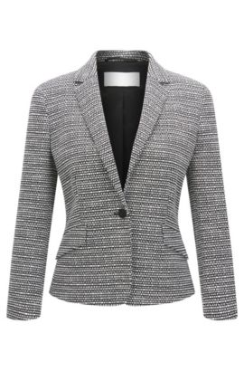 'Katemika' | Bouclé Jacket, Patterned