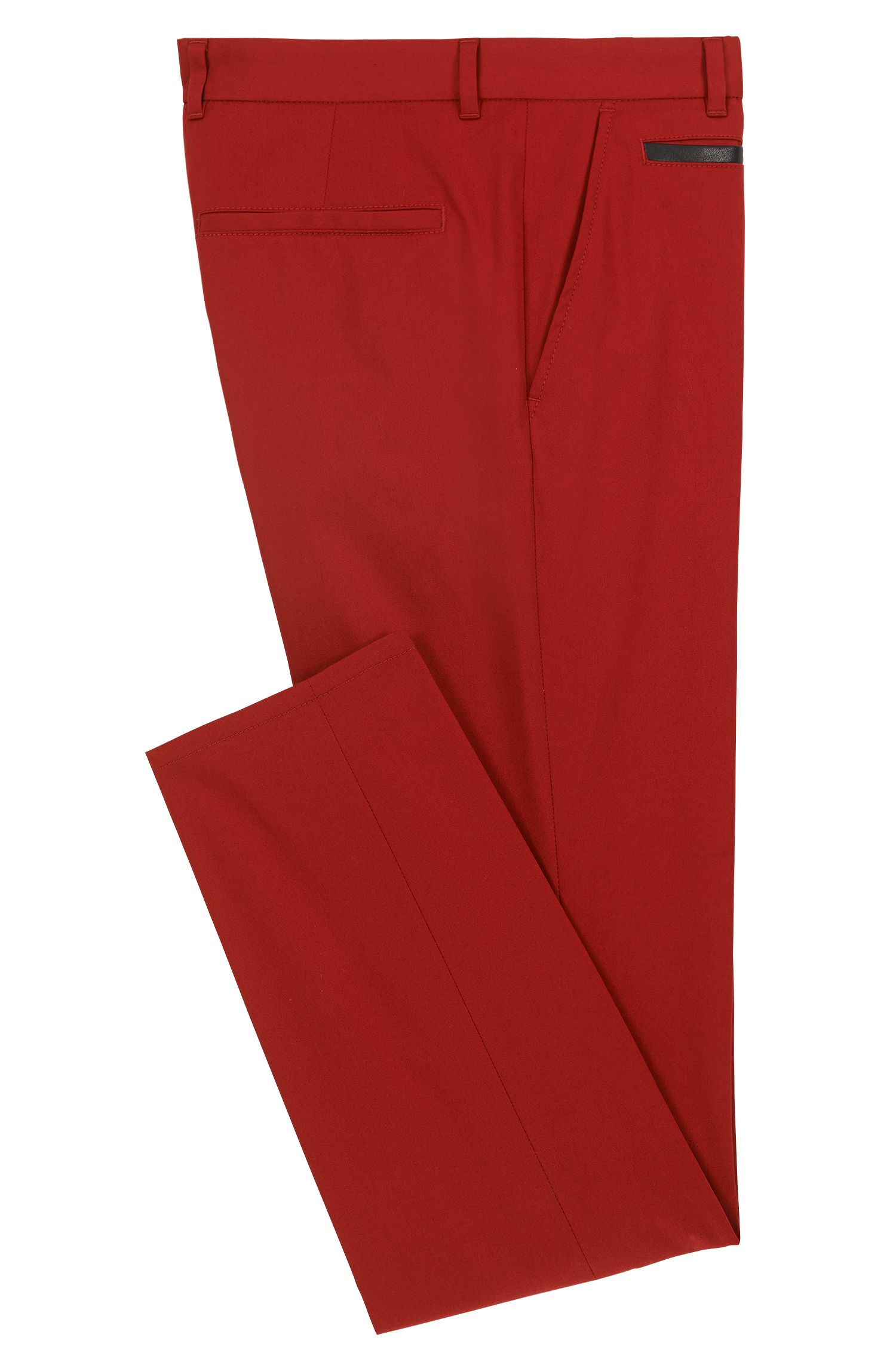 Stretch Cotton Pant, Extra Slim Fit   Harlyn