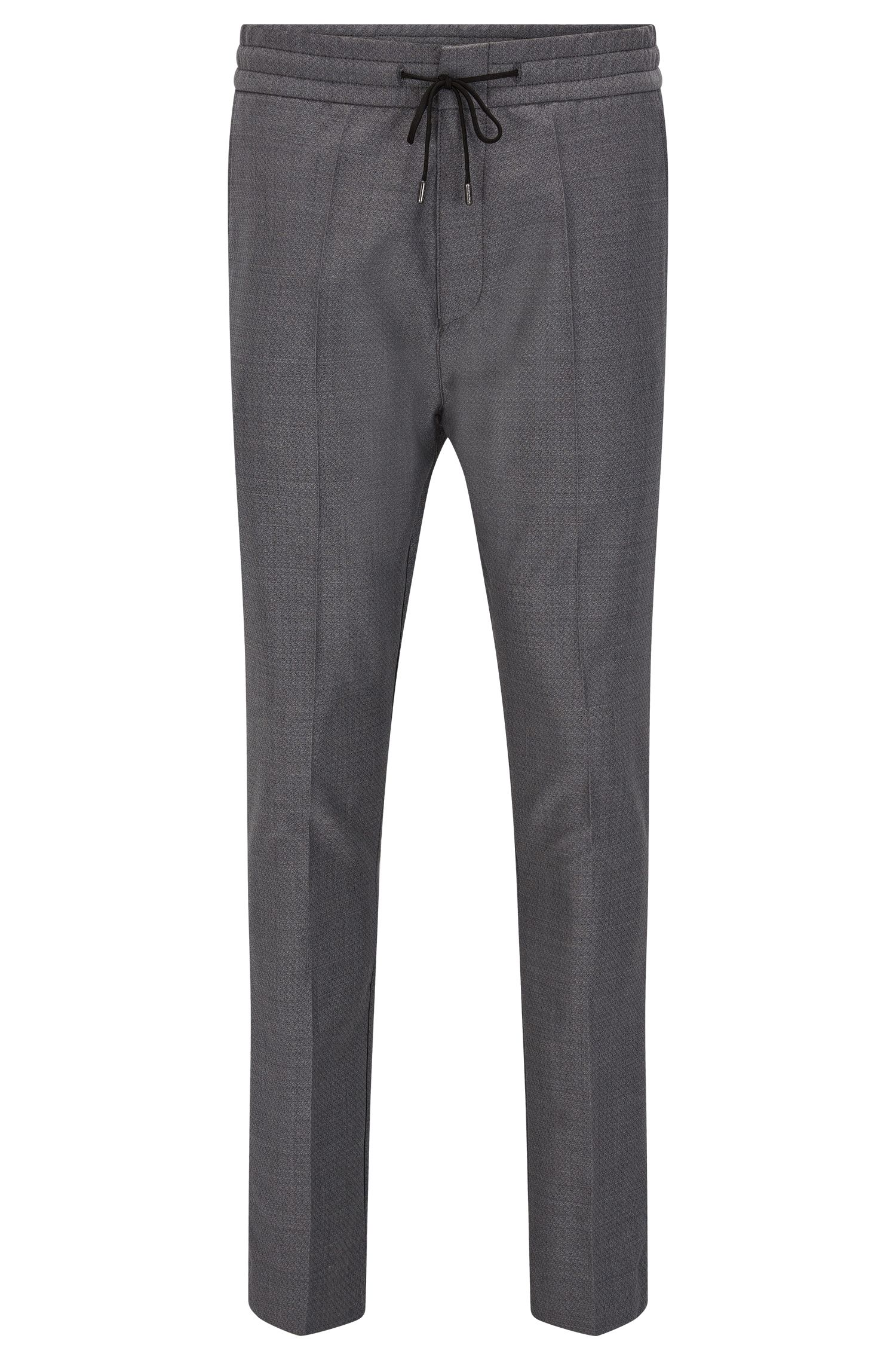 Virgin Wool Pant, Tapered Fit | Himesh