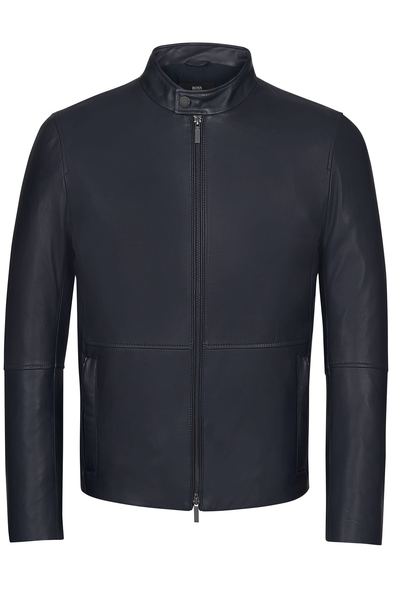 Lamb Nappa Leather Jacket | Nelkan