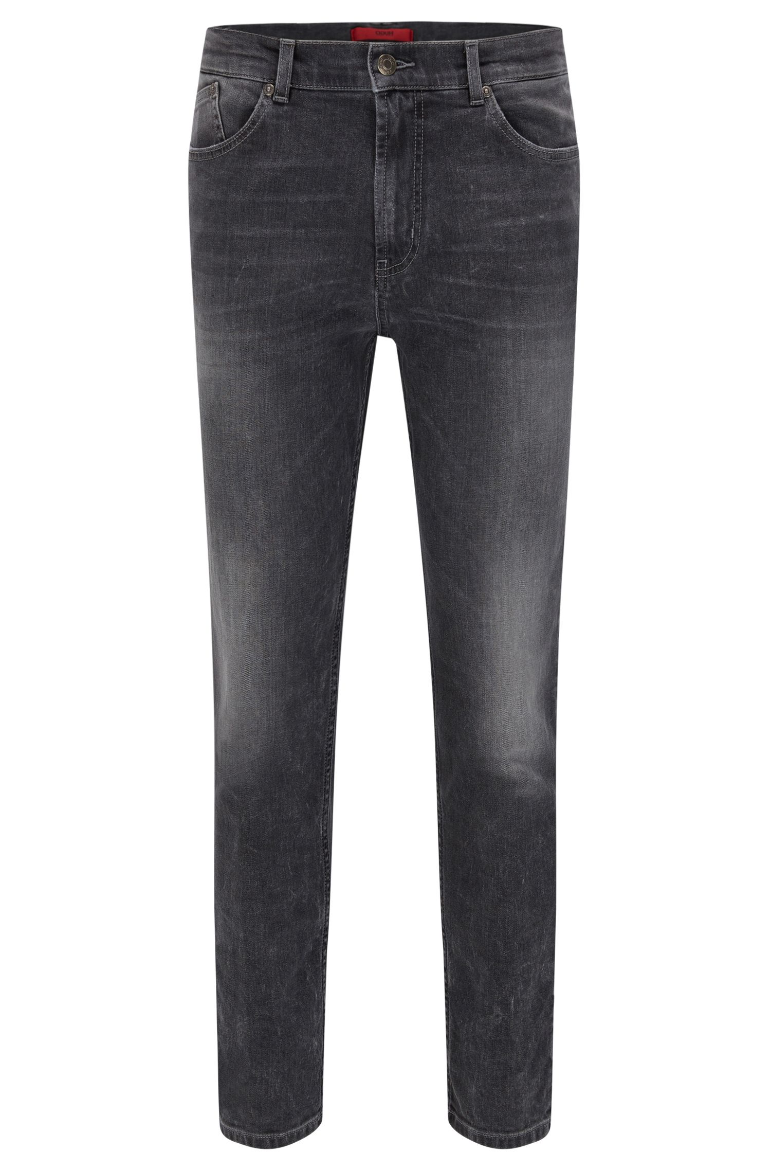 9.5 oz Stretch Cotton Jeans, Slim Fit | Hugo 332