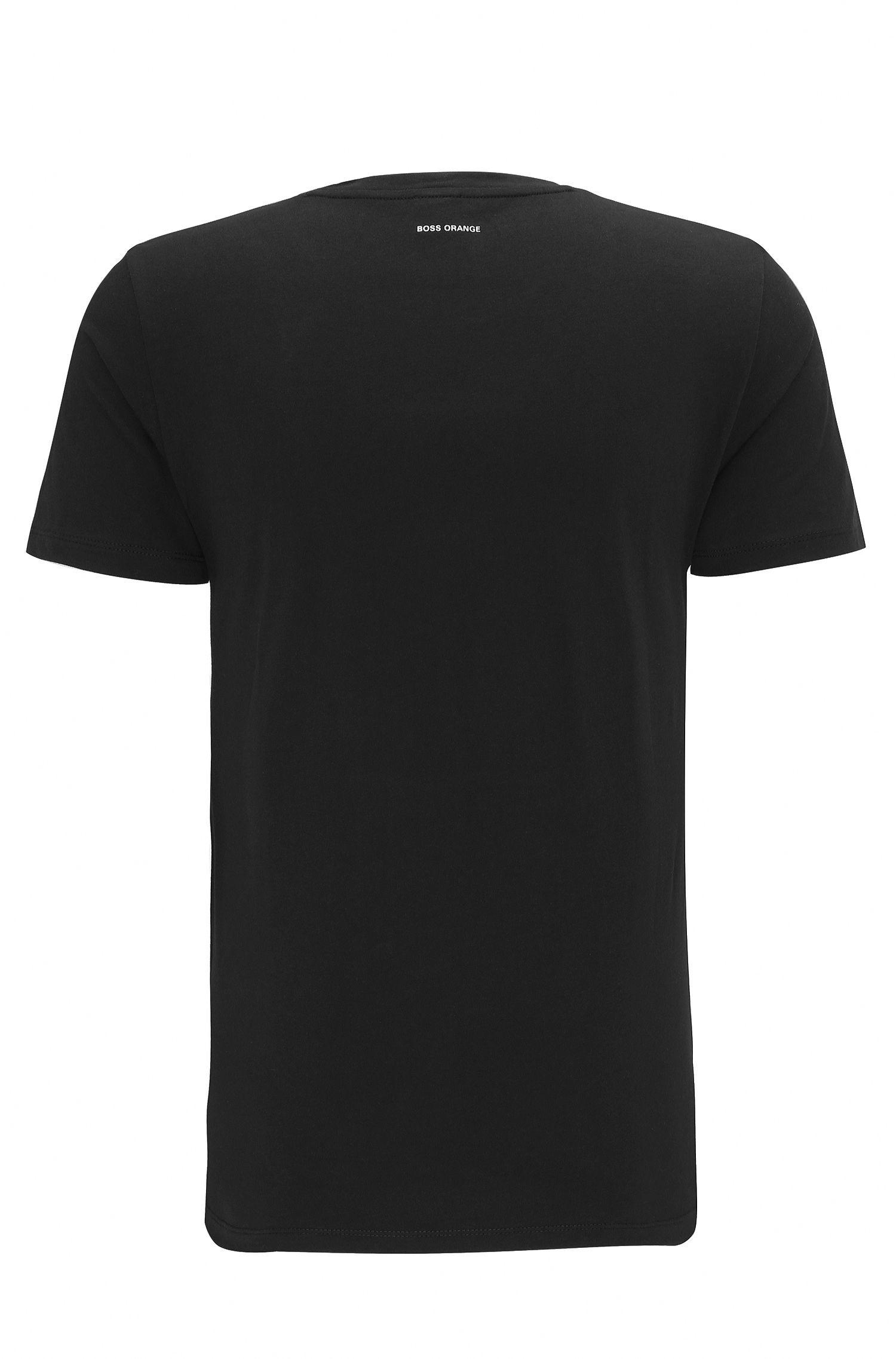 Cotton Graphic T-Shirt   Turbulence