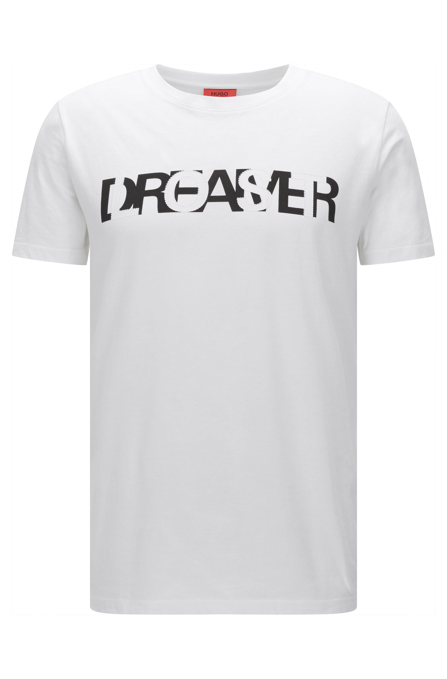 Cotton Graphic T-Shirt | Dreamer, White