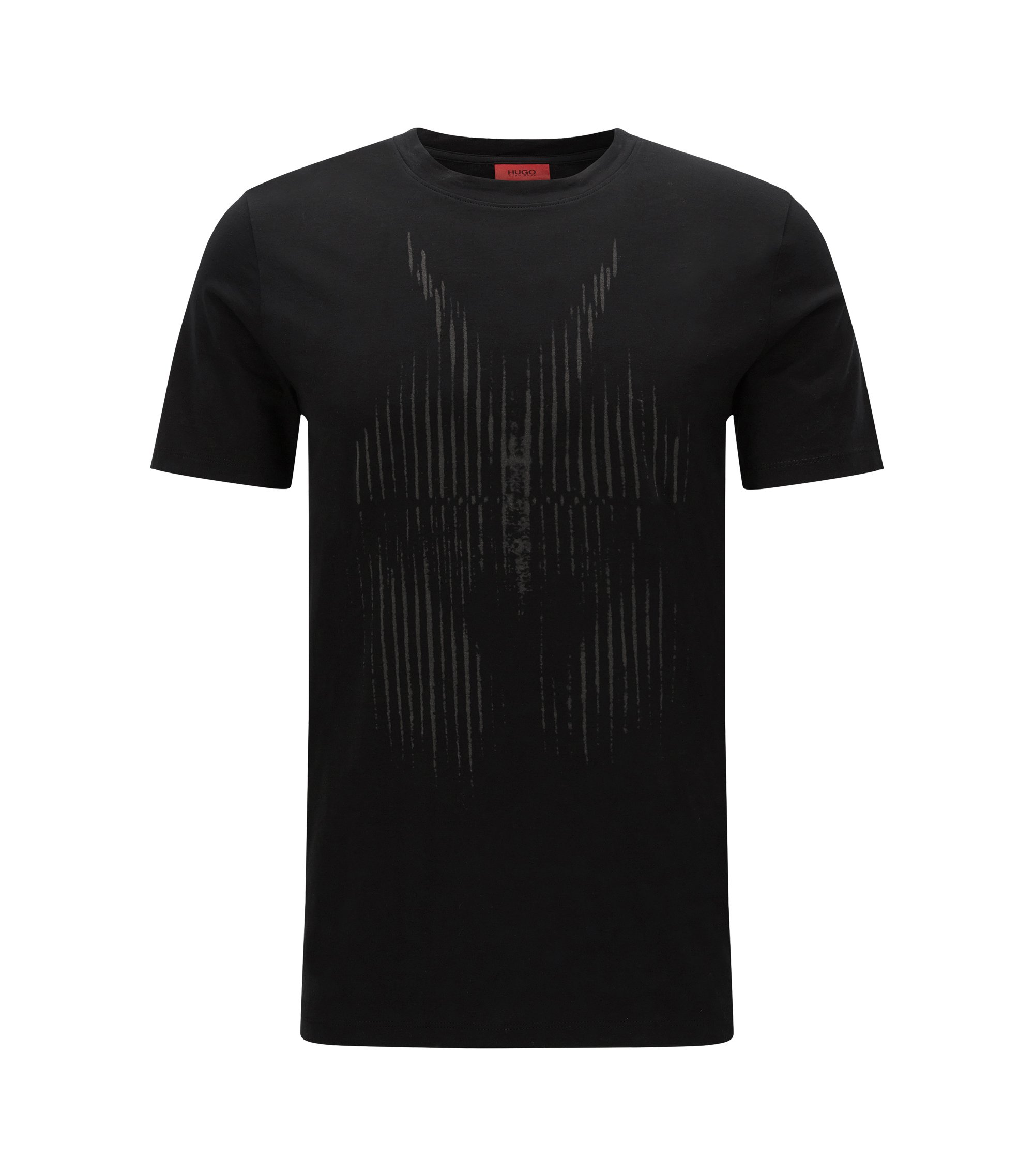 Cotton Graphic T-Shirt | Deetle, Black