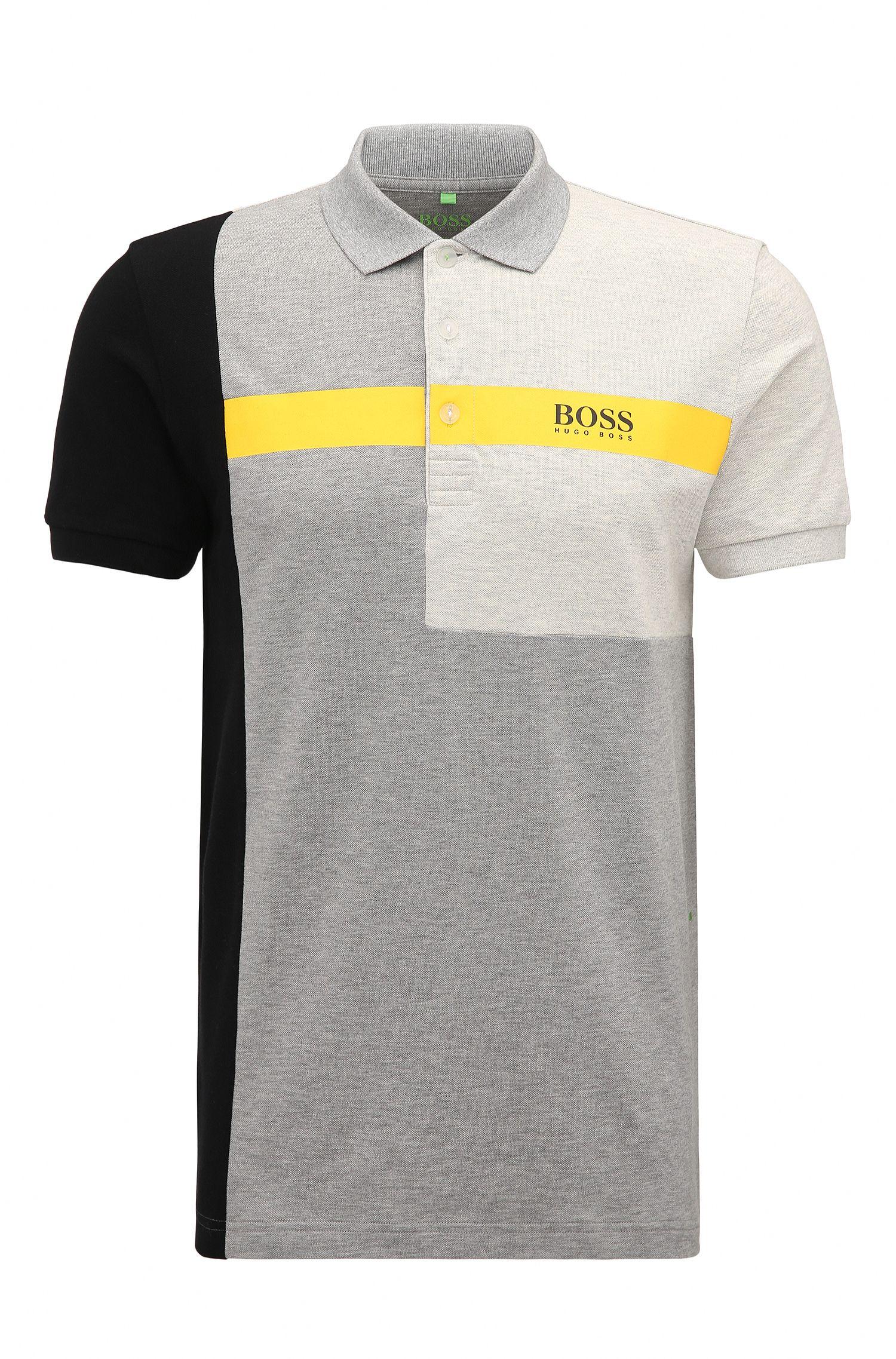 Stretch Cotton Polo Shirt, Regular Fit   Paddy Pro