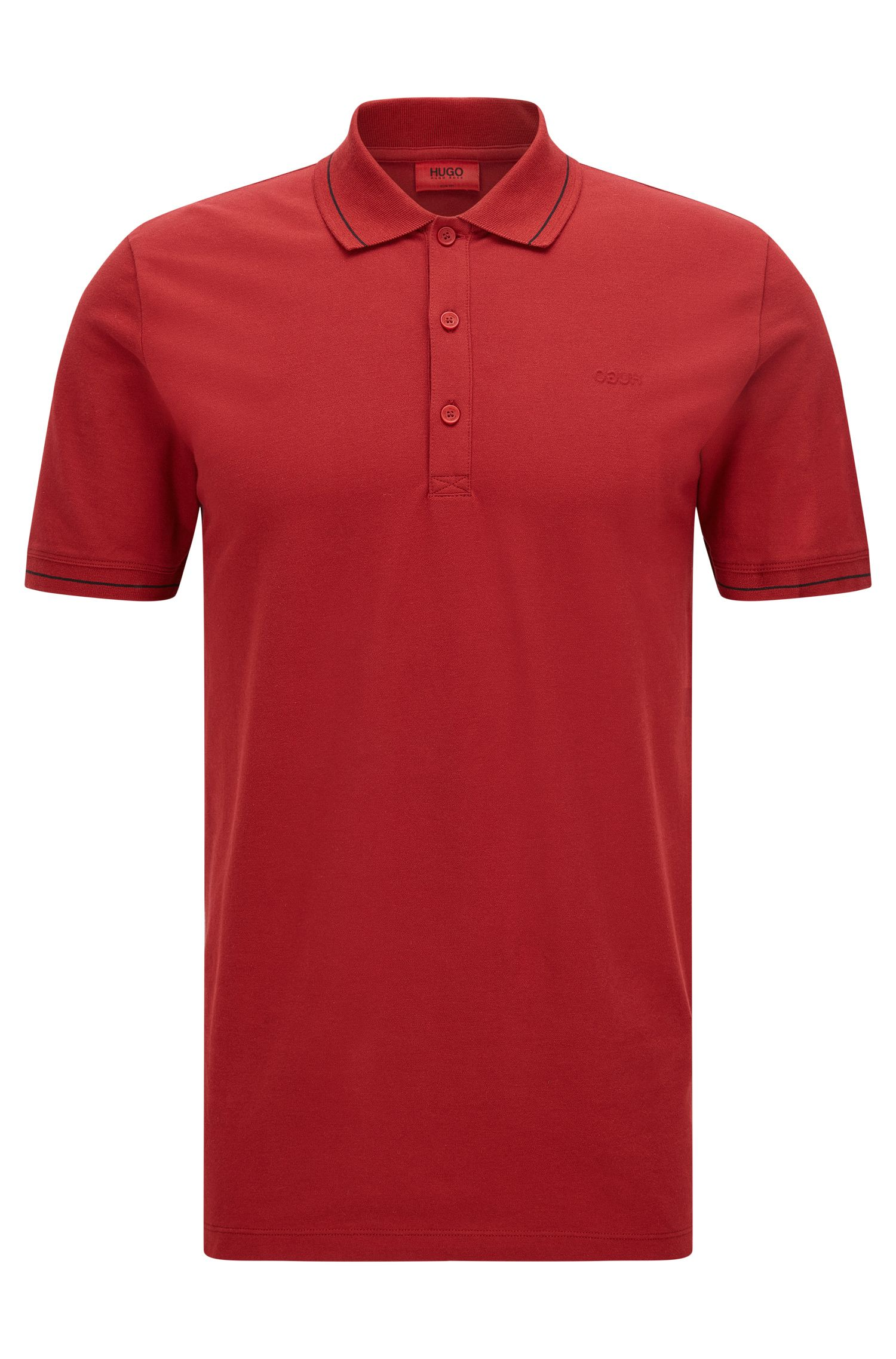 'Daymont'   Slim Fit, Stretch Cotton Polo