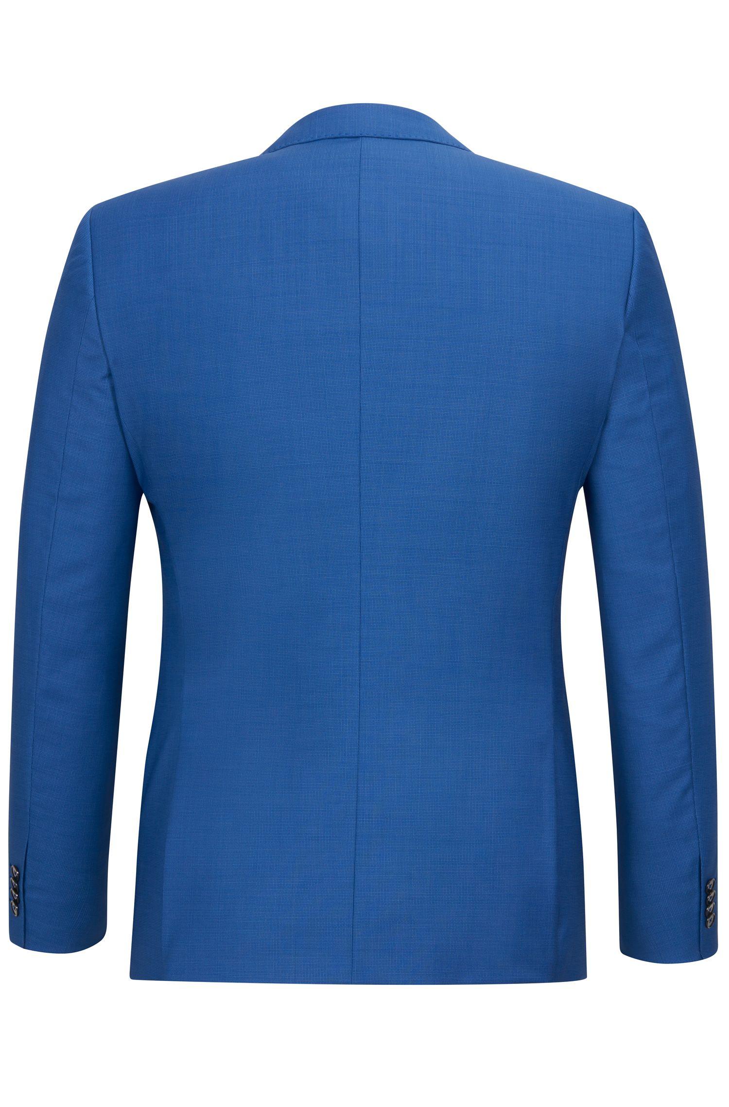 Basketweave Virgin Wool Suit, Slim Fit | C-Hutson/C-Gander
