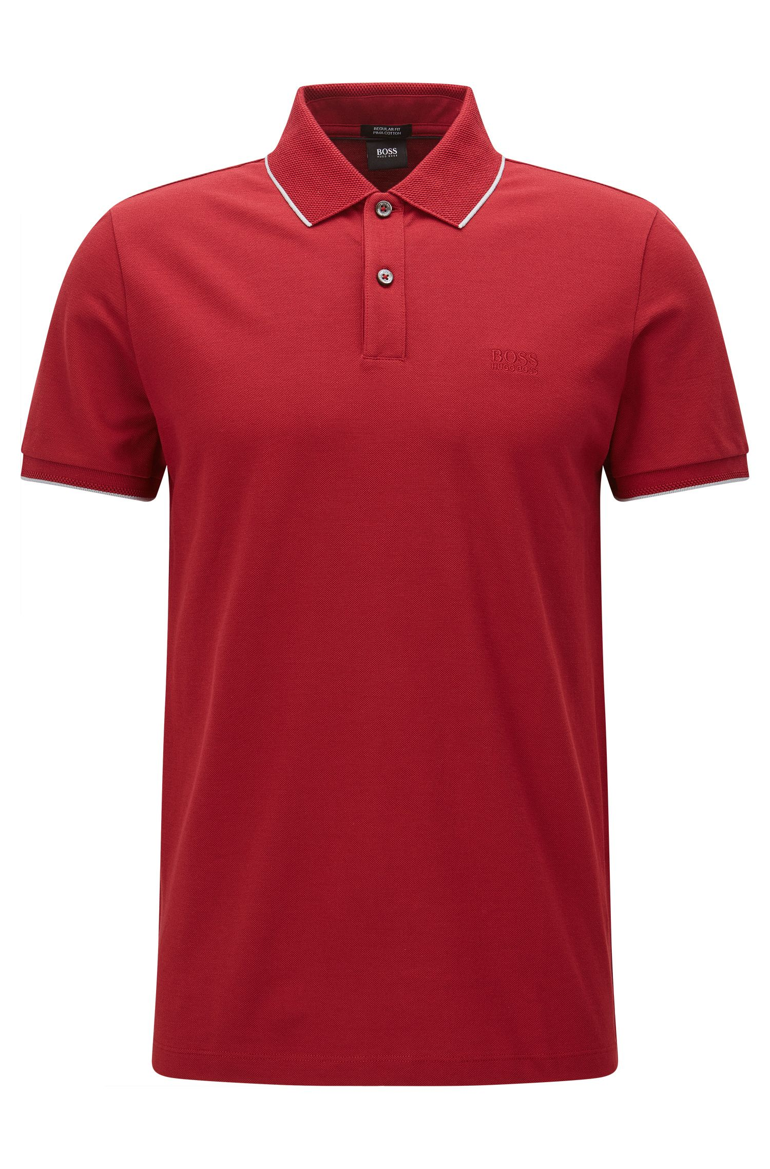 Cotton Polo Shirt, Regular Fit | Parlay