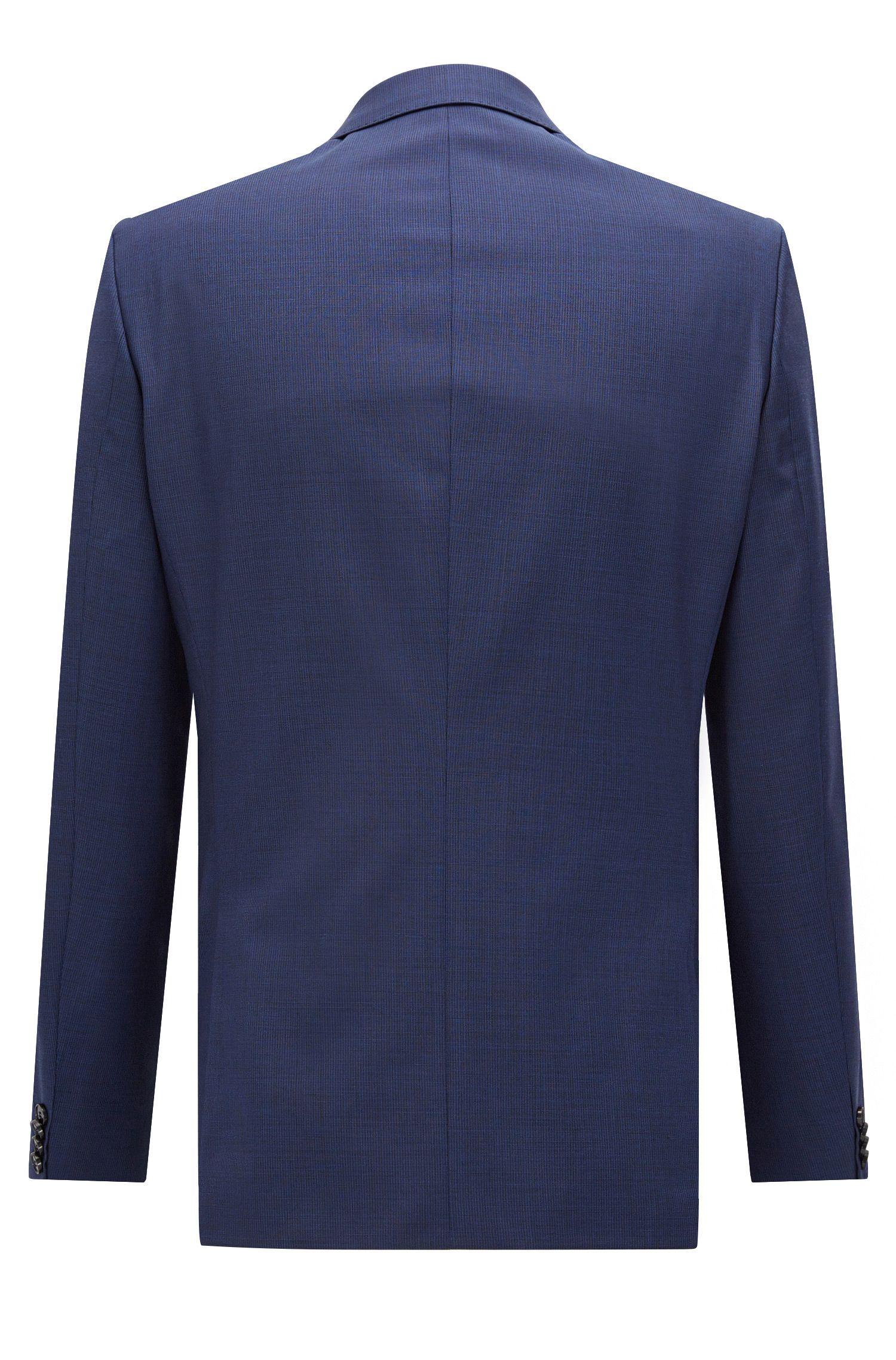 Nailhead Italian Wool Suit, Slim Fit | C-Huge/C-Genius