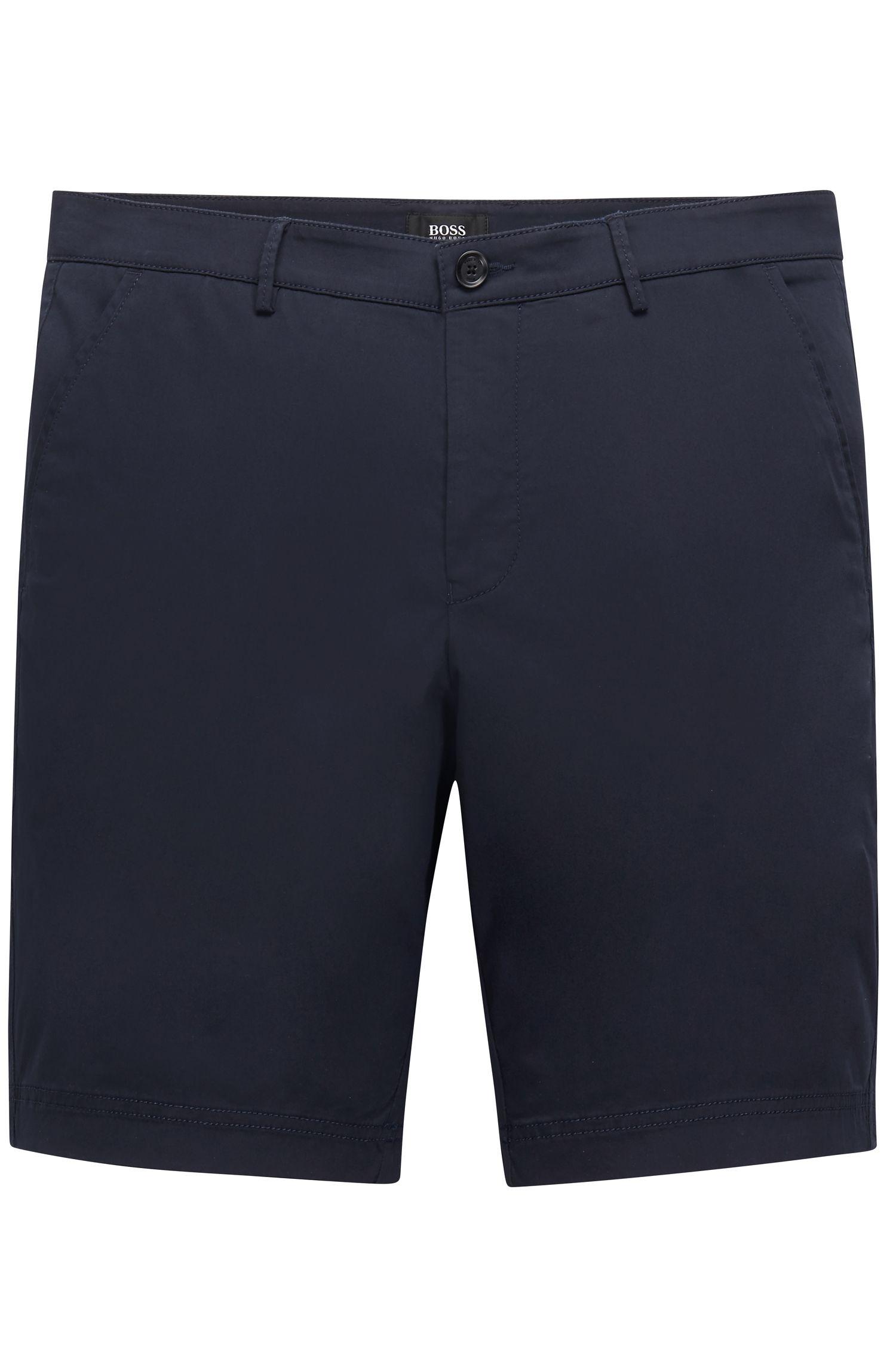 Stretch Cotton Short, Regular Fit | Crigan Short W