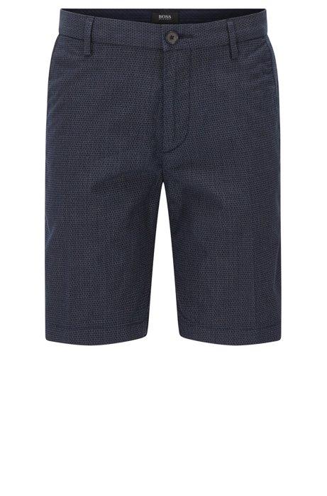 Italian Stretch Cotton Shorts, Slim Fit | Rice Short W