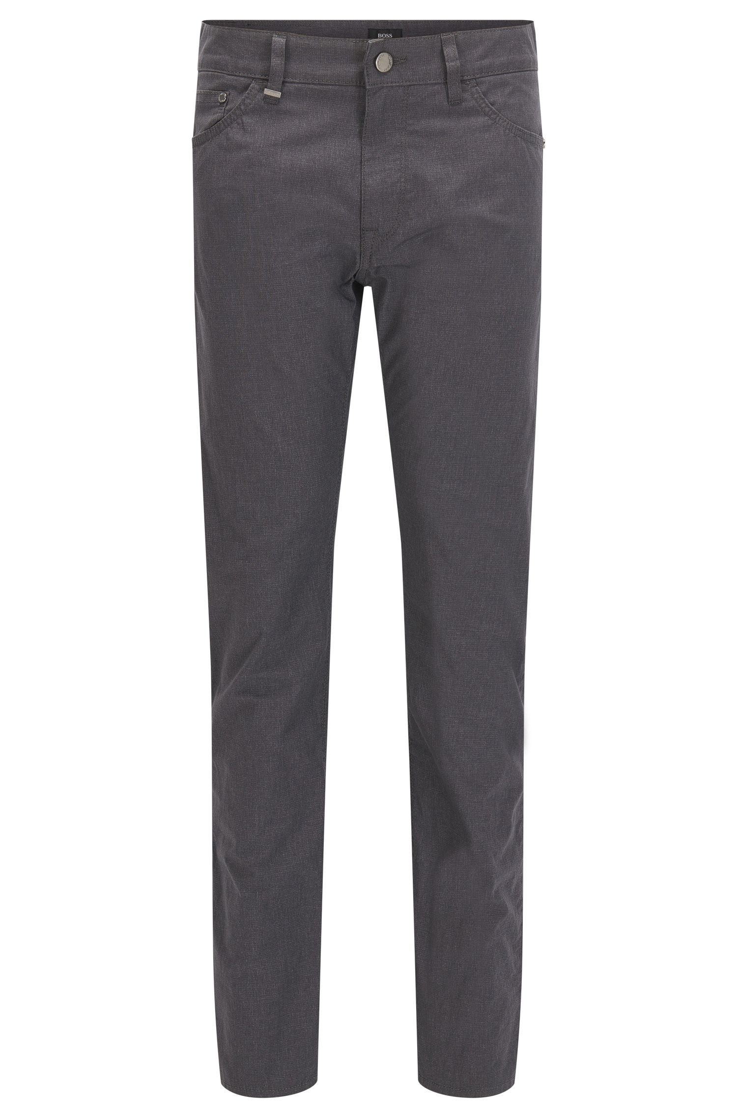 9 oz Basketweave Italian Stretch Cotton Pants, Regular Fit | Maine