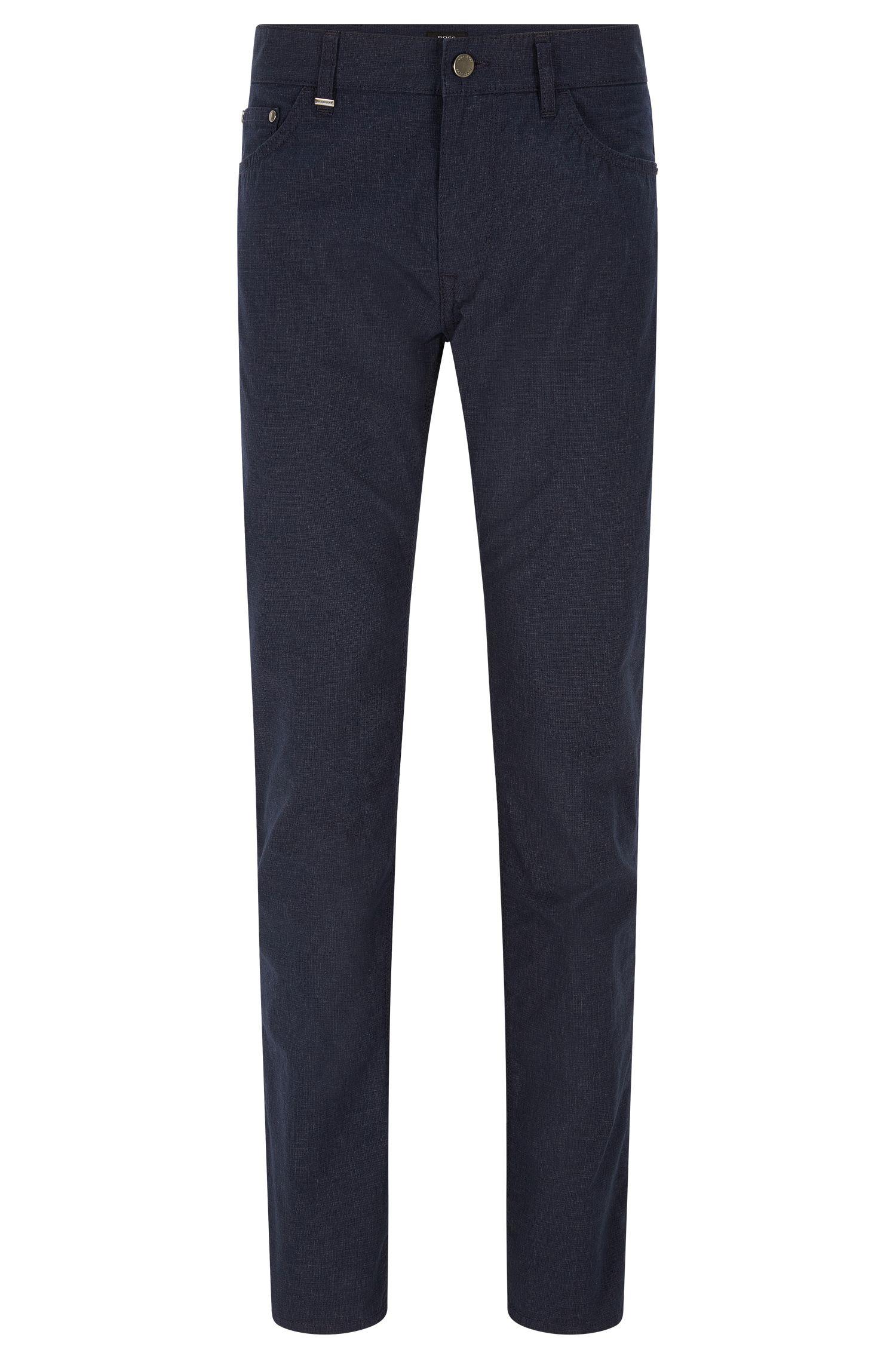9 oz Basketweave Italian Stretch Cotton Pants, Regular Fit | Maine
