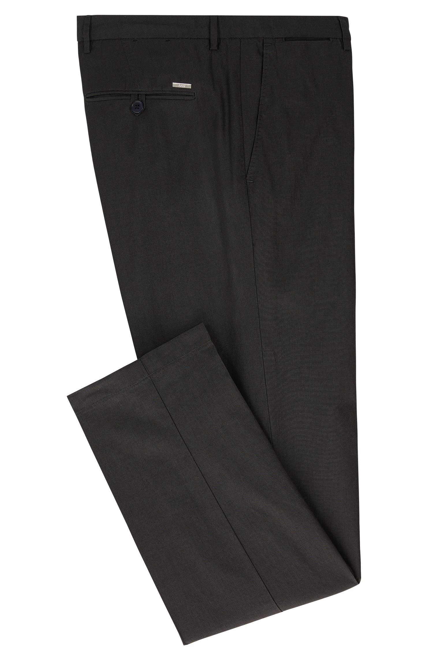 Cotton-Silk Pant, Regular Fit | Crigan Luxe W