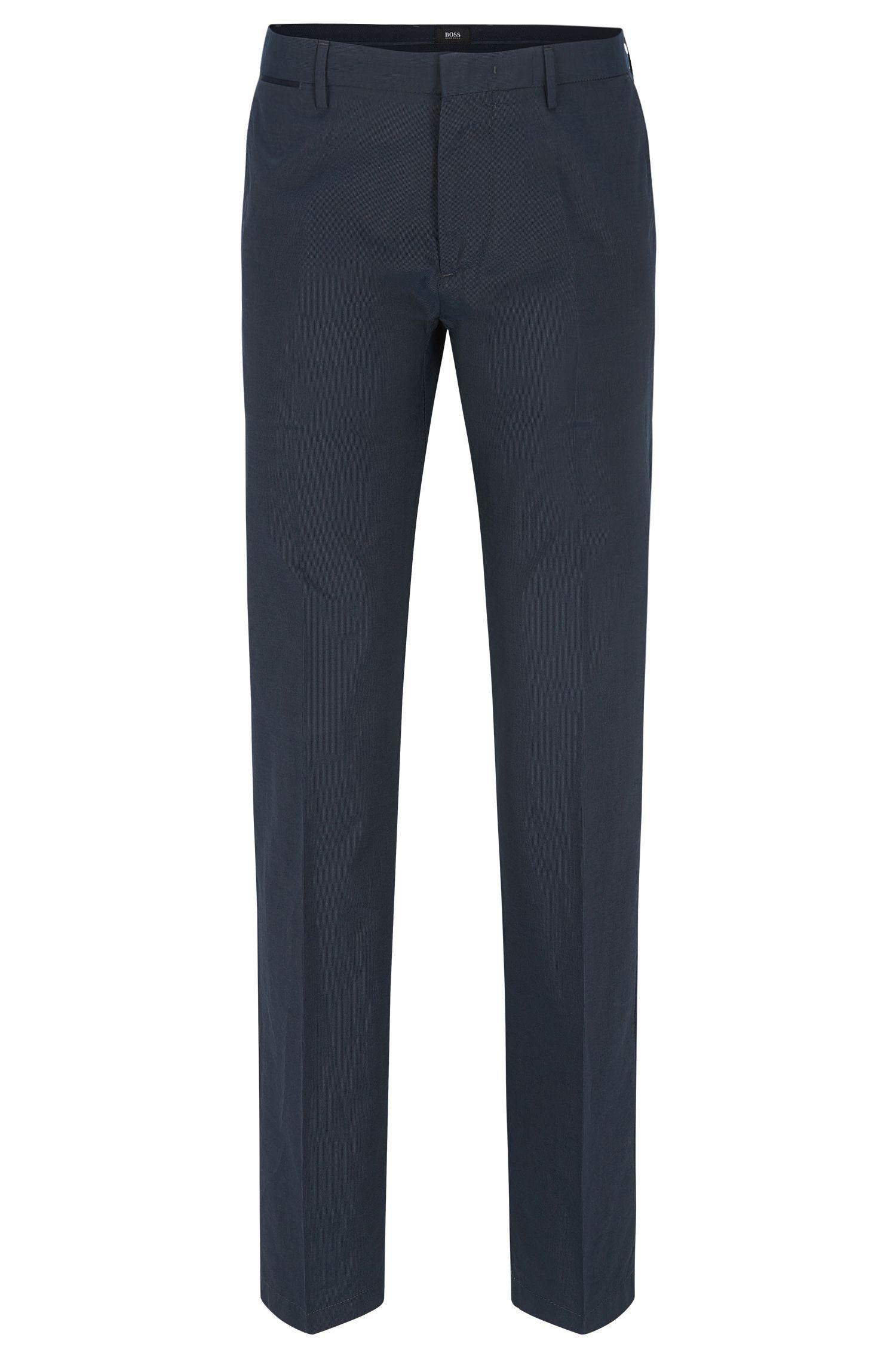 Cotton-Silk Pant, Regular Fit | Crigan Luxe W
