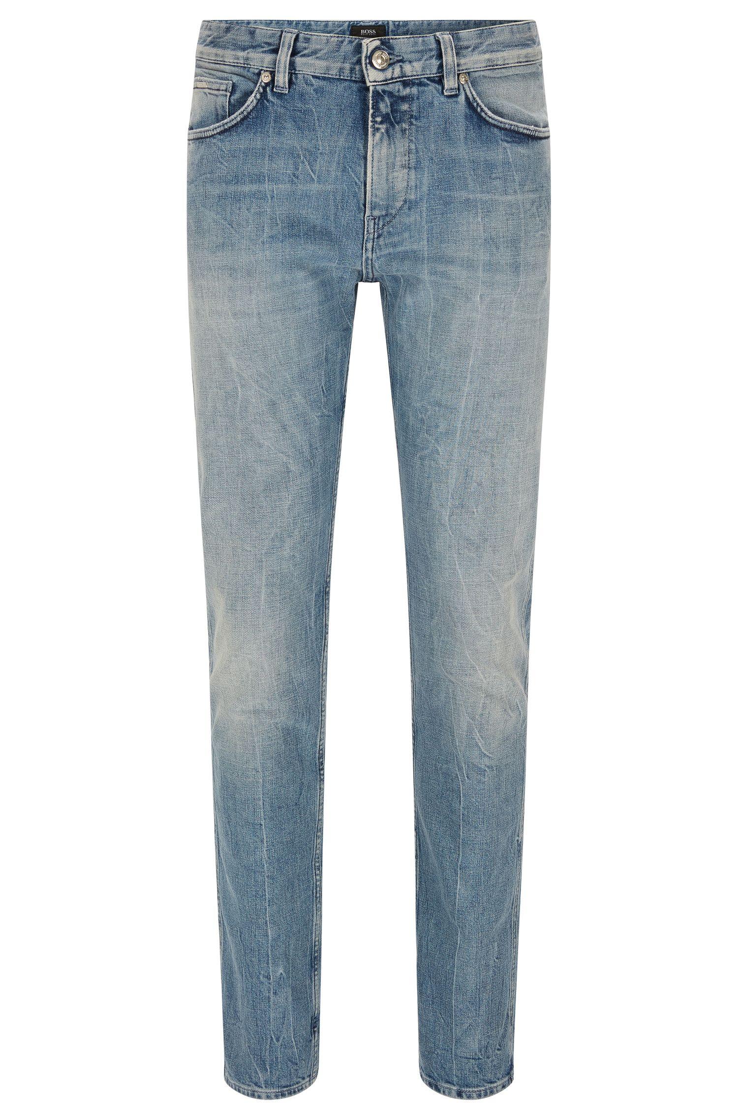12 oz Stretch Cotton Jeans, Slim Fit   Delaware