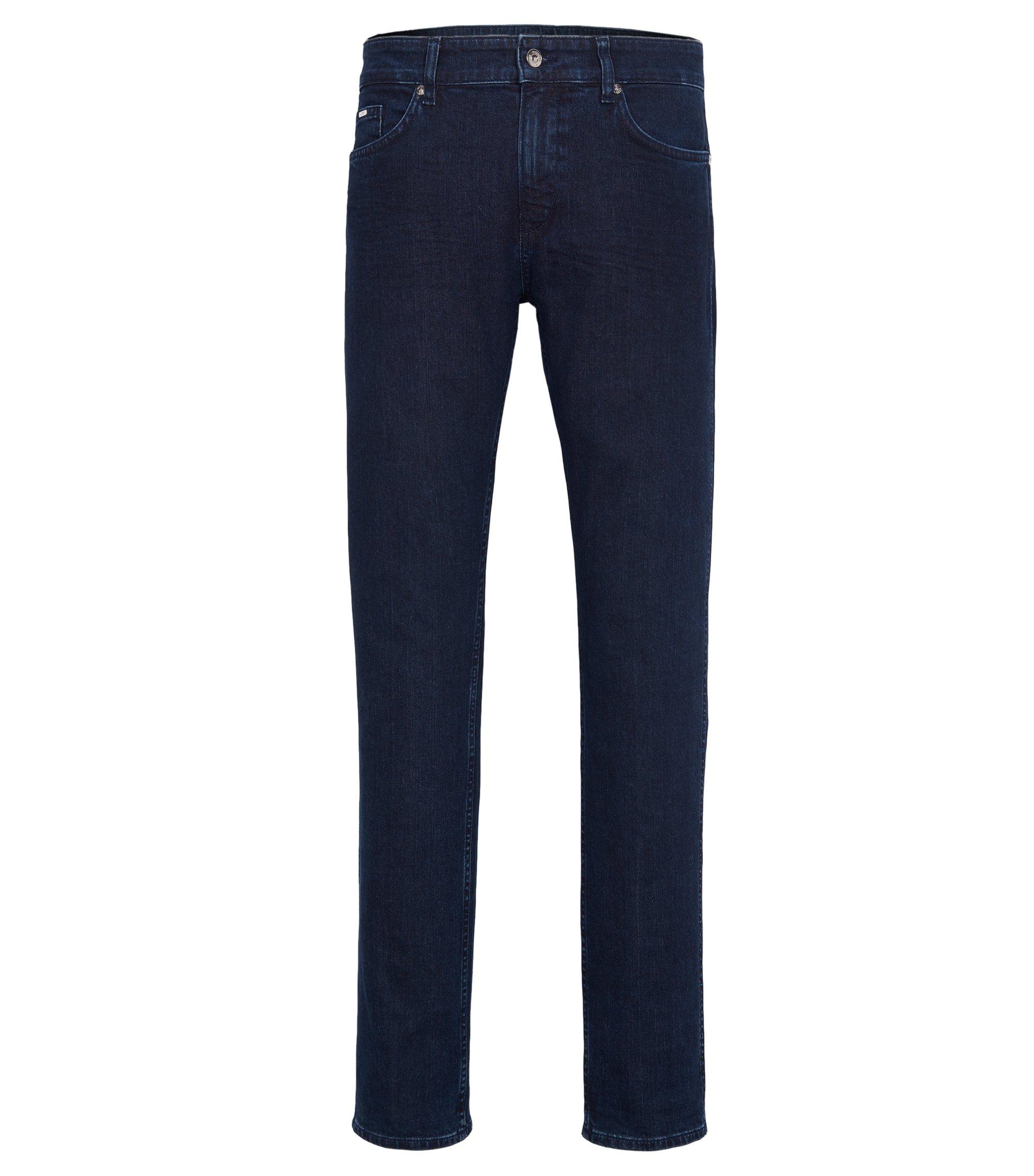 8 oz Stretch Cotton Jeans, Slim Fit | Delaware, Dark Blue