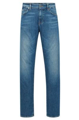 9 oz Stretch Cotton Jeans, Regular Fit | Maine, Blue