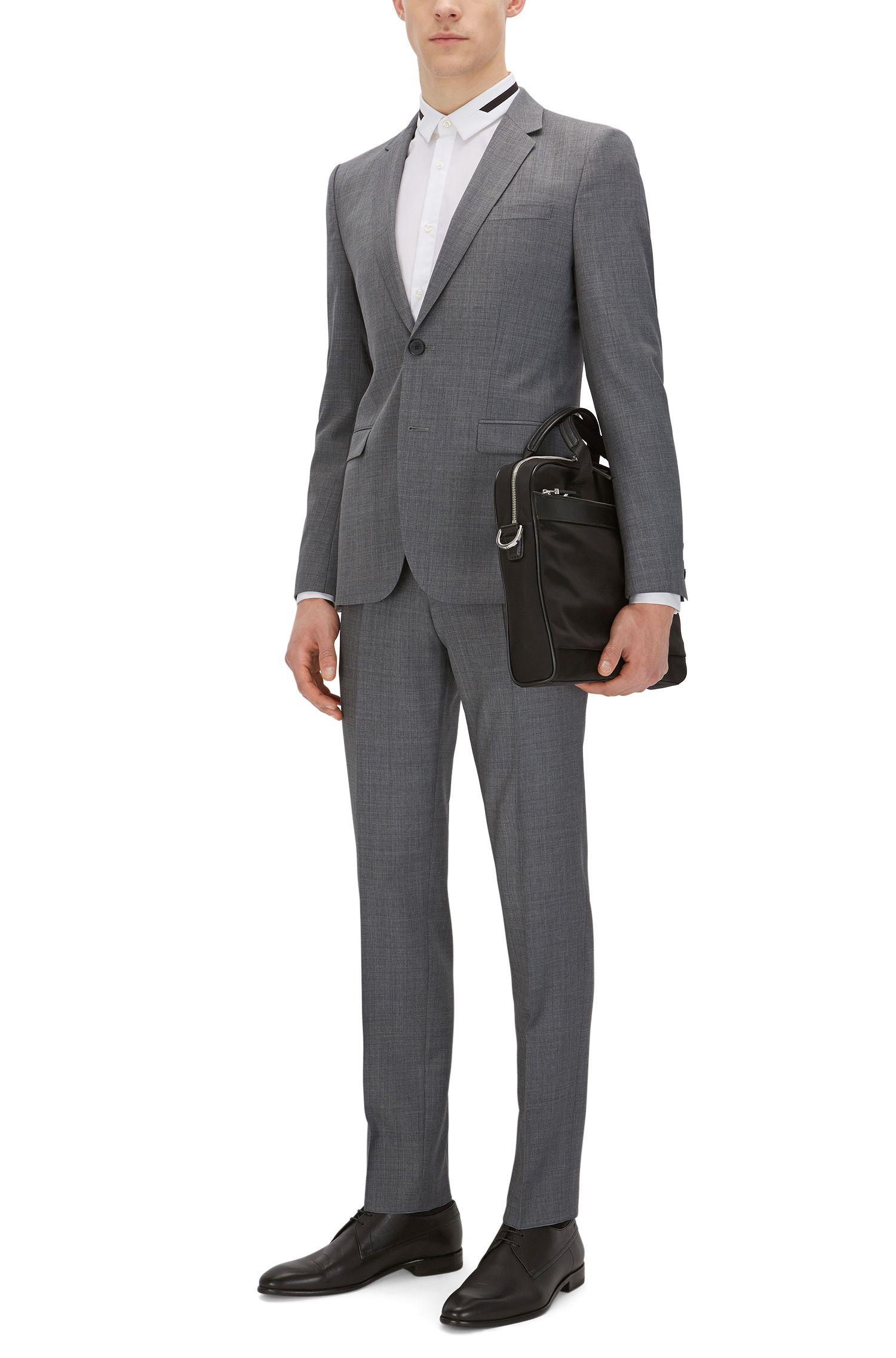Italian Super 110 Virgin Wool Suit, Extra Slim Fit | Astian/Hets