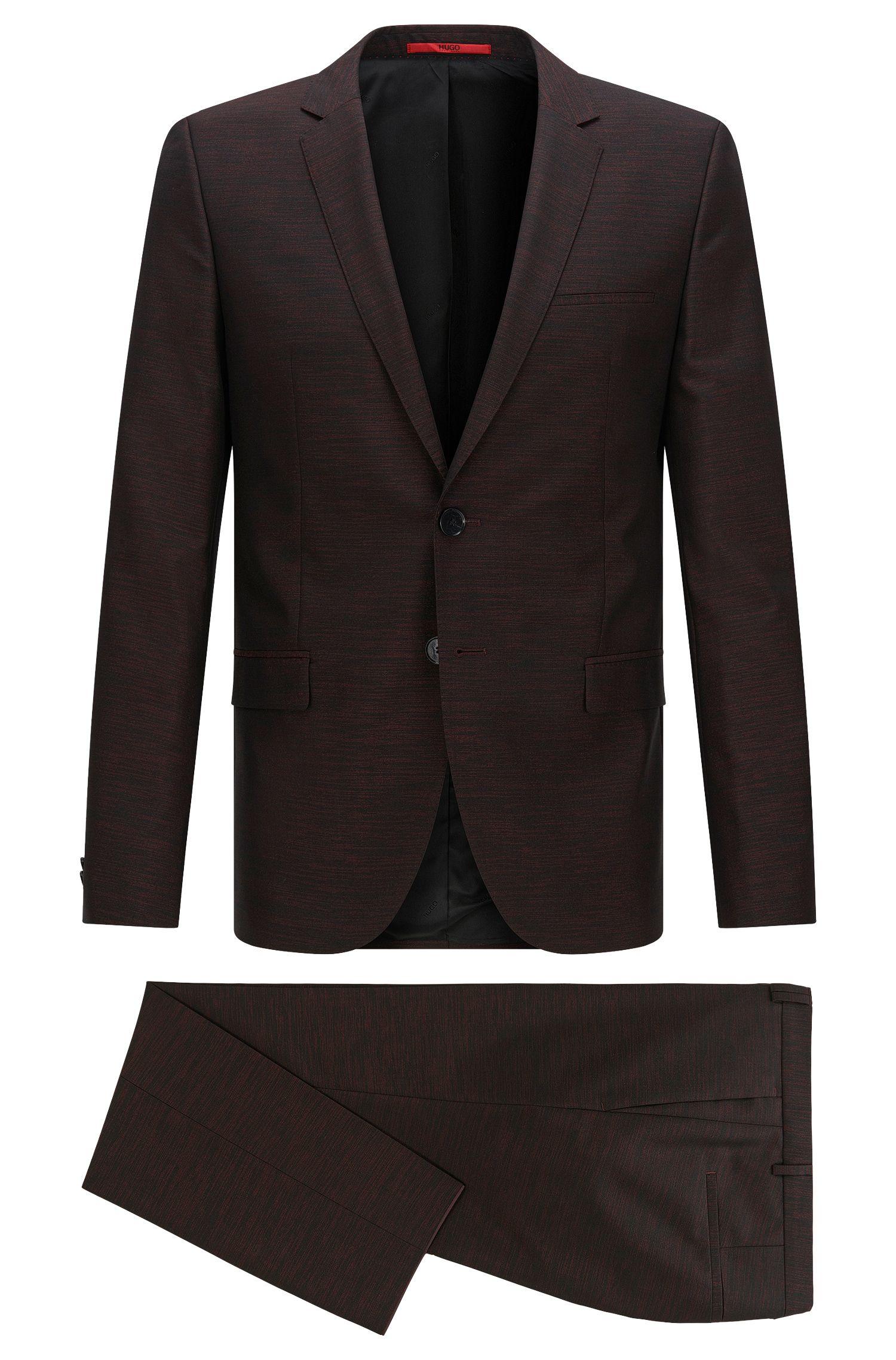Virgin Wool Blend Suit, Slim Fit | Arti/Hesten