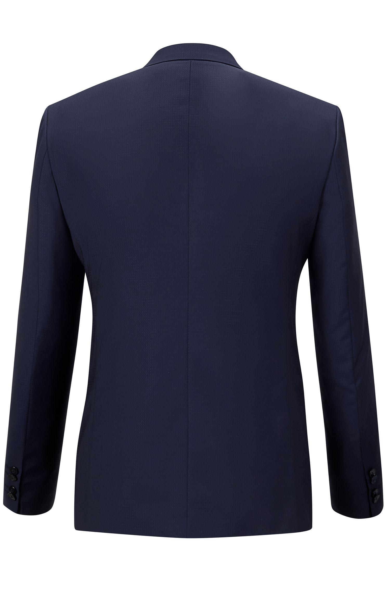 Italian Virgin Wool Suit, Slim Fit | Adgin/Hiels