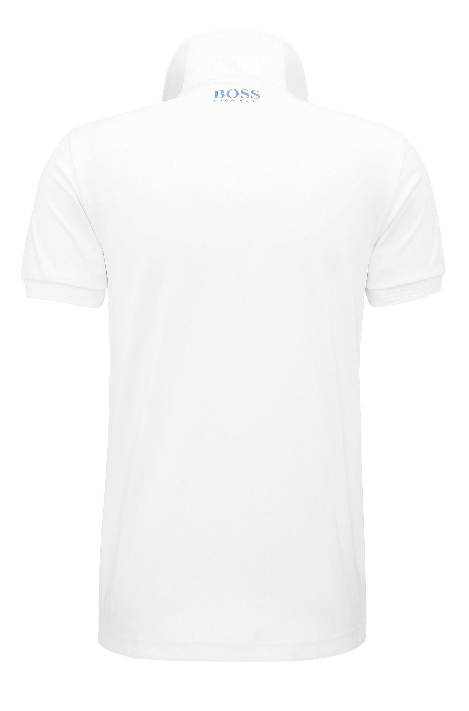 Stretch Polo Shirt, Slim Fit | Paule Pro, White