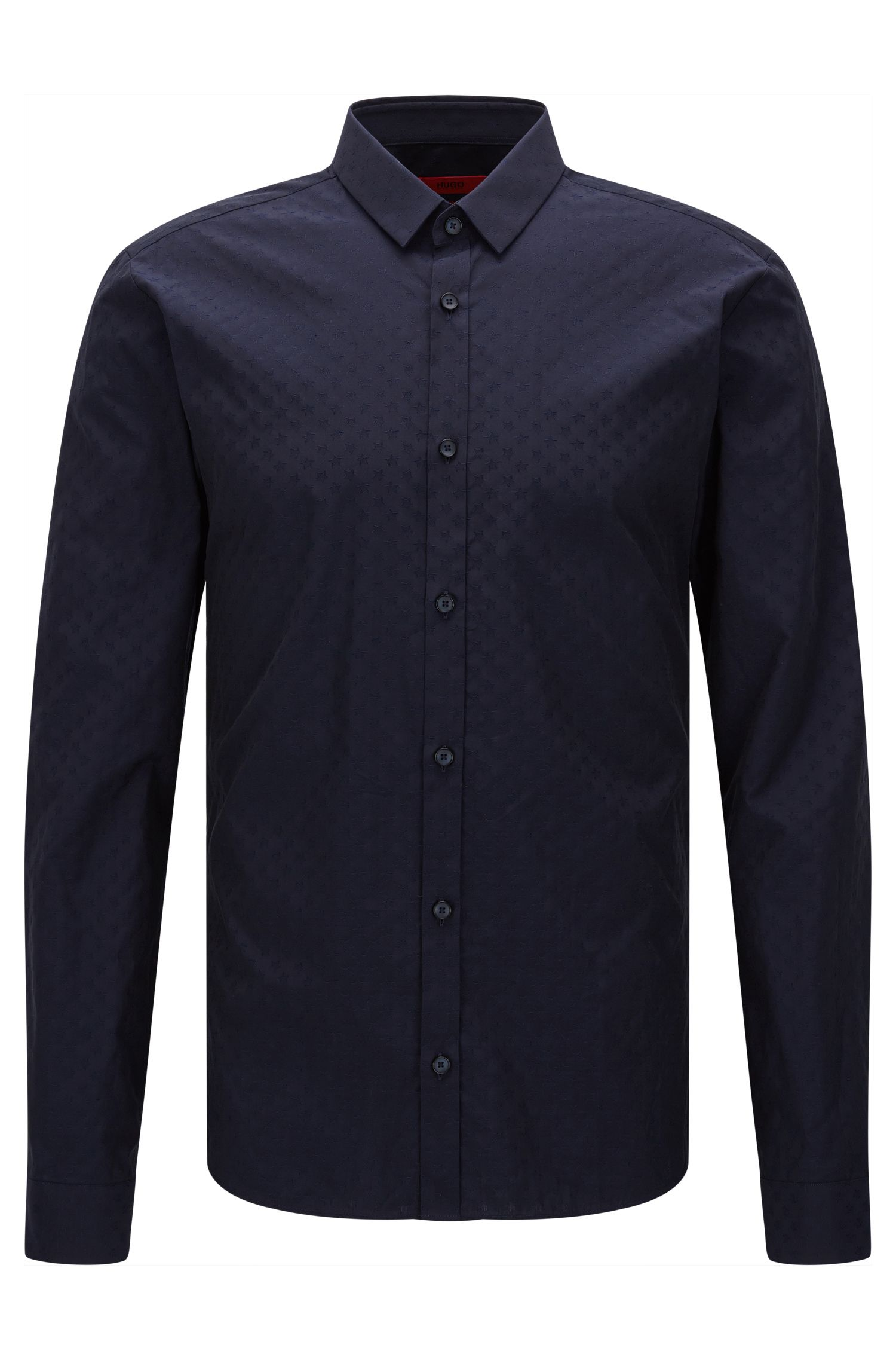 Dobby Cotton Button Down Shirt, Slim Fit | Ero