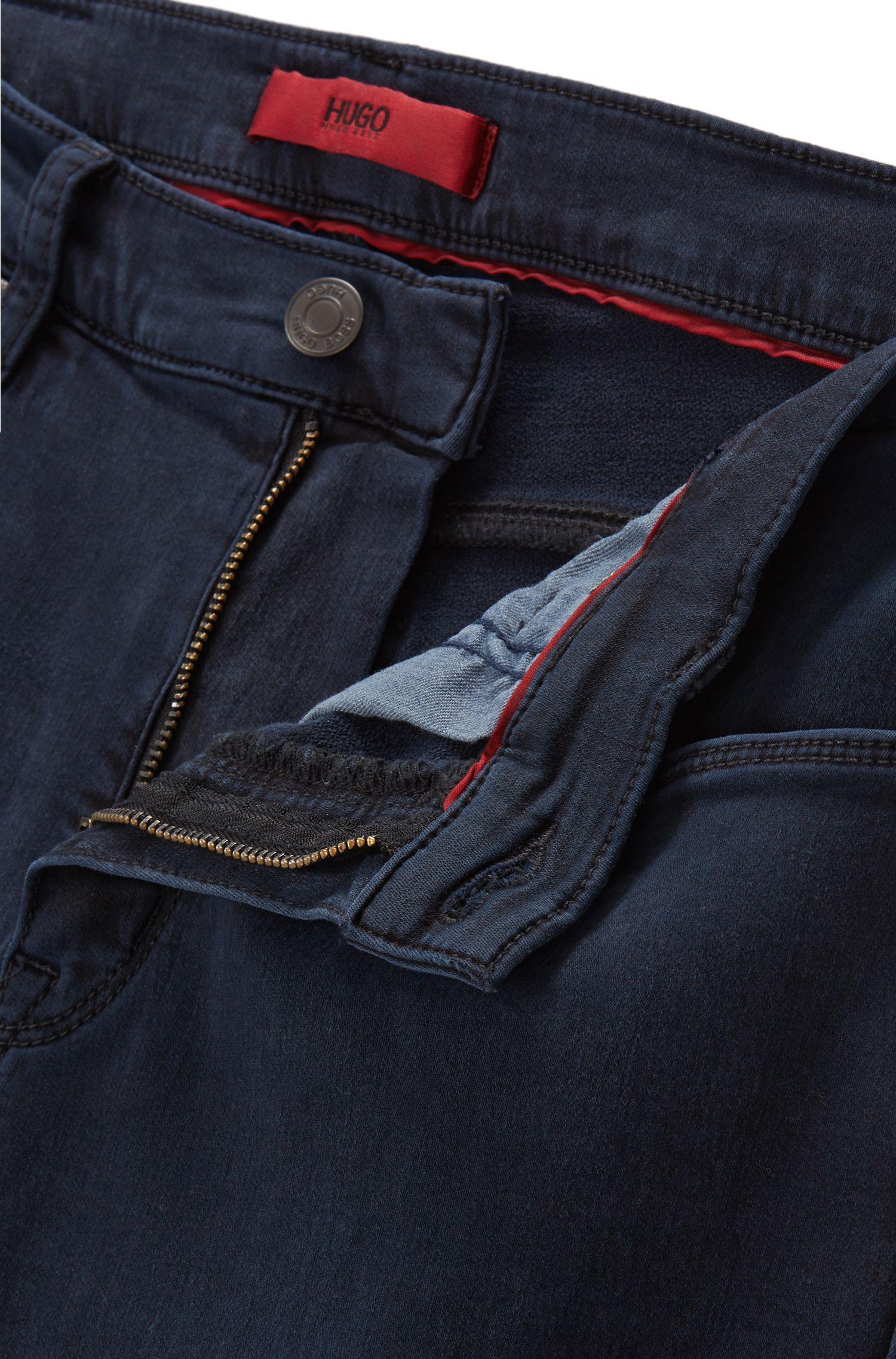 9.5 oz Stretch Cotton Blend Jeans Slim Fit | Hugo 708