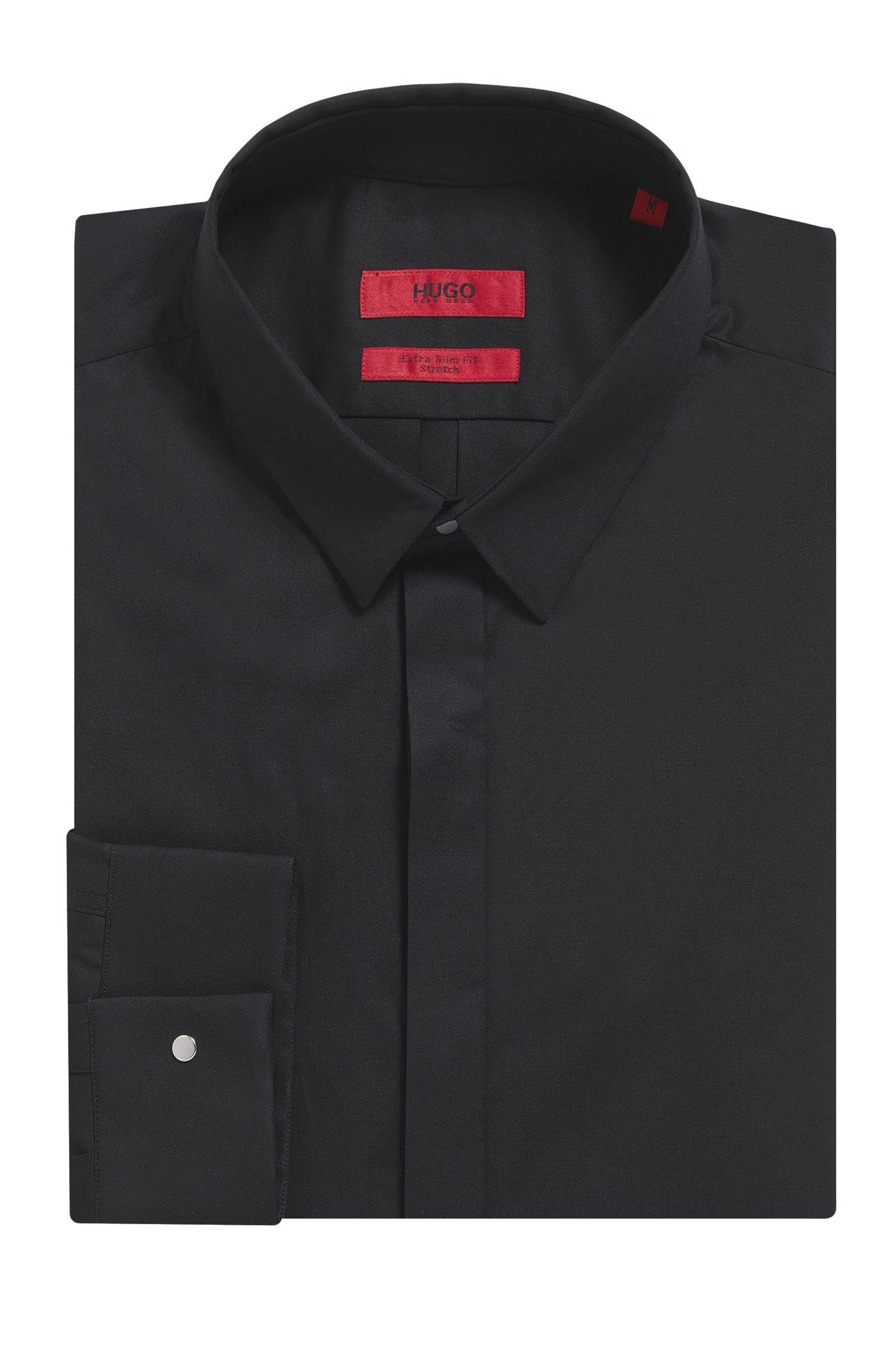 Stretch Cotton Poplin Shirt, Extra Slim Fit | Ero