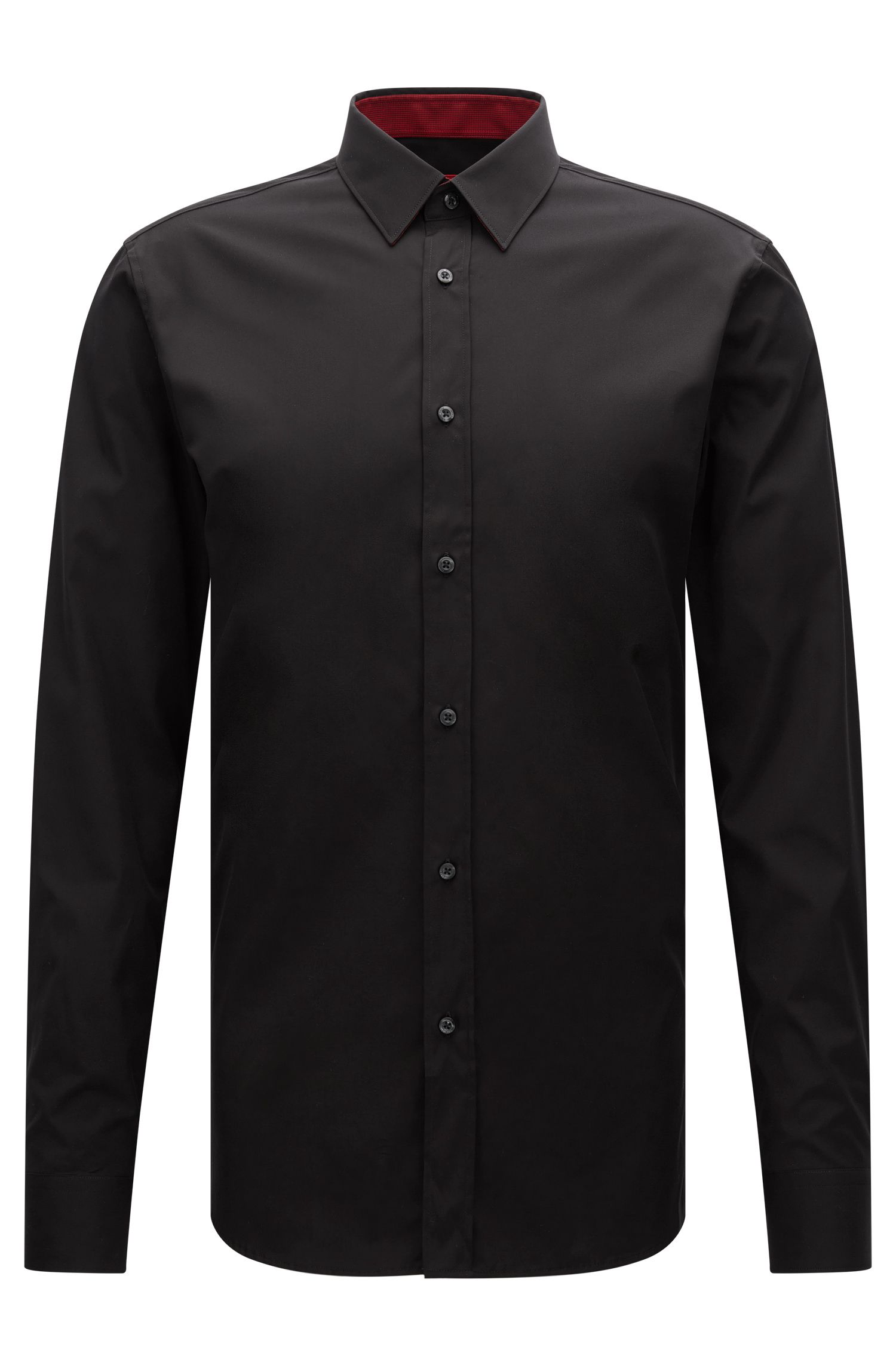 'Elisha' | Extra-Slim Fit, Cotton Easy Iron Button Down Shirt