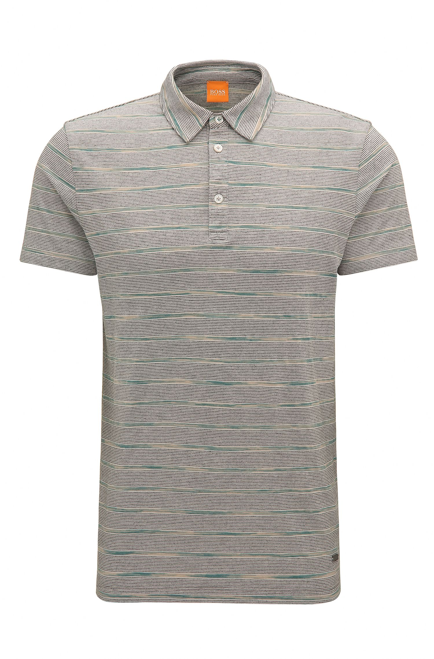 Stretch Cotton Polo Shirt, Regular Fit   Playmate