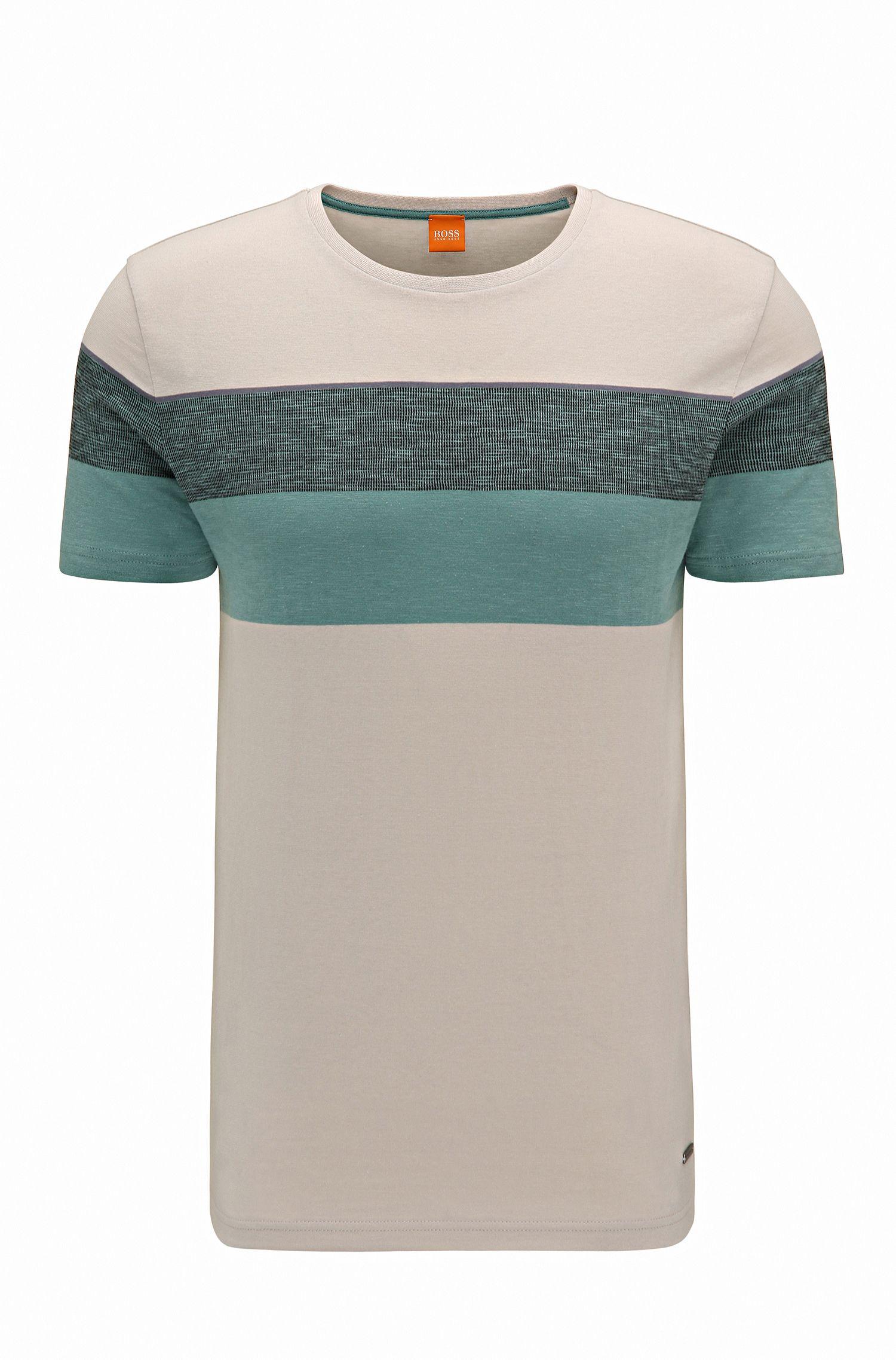 Colorblock Cotton T-Shirt | Twist