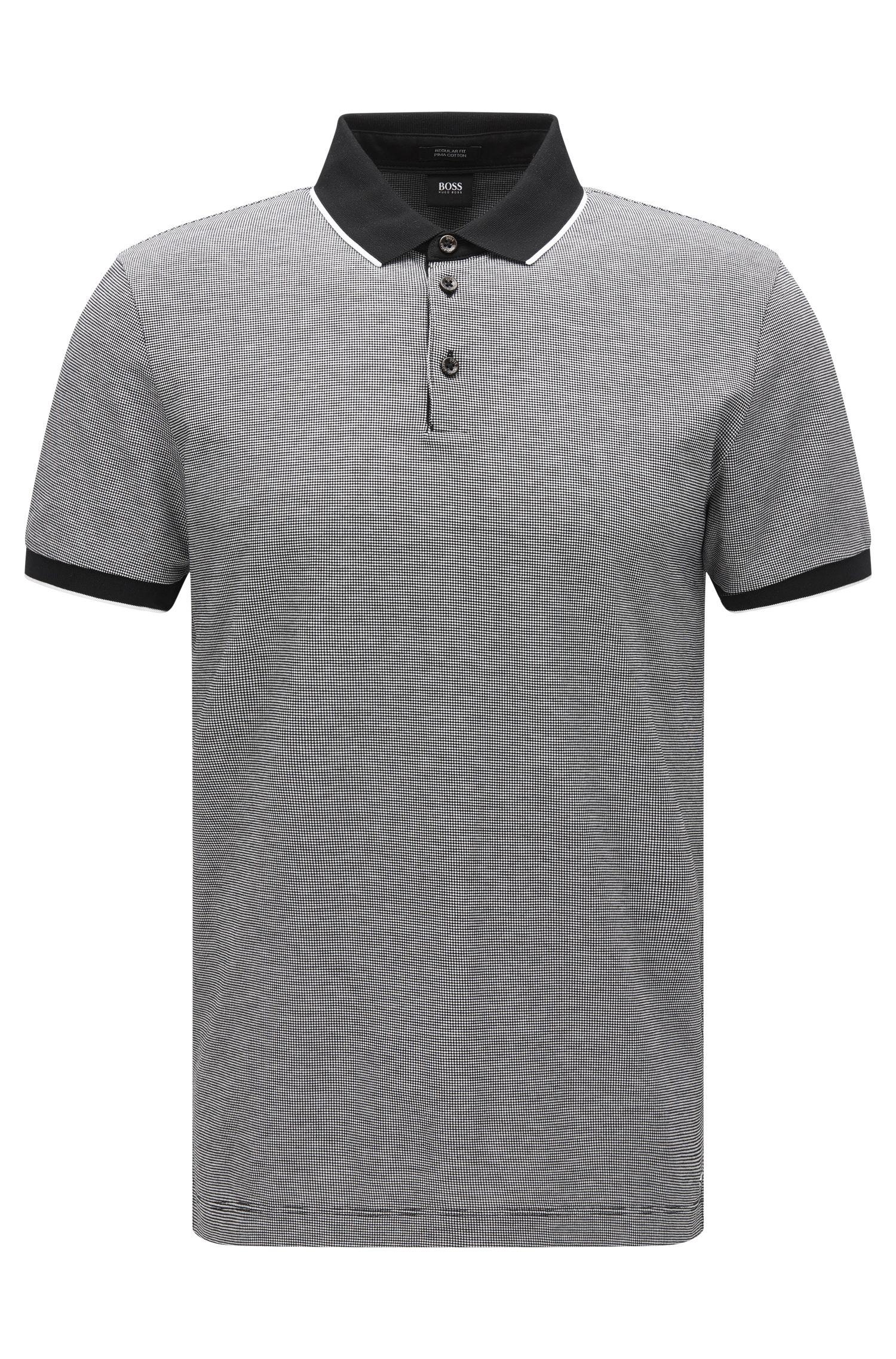 Birdseye Pima Cotton Polo Shirt, Regular Fit | Pack