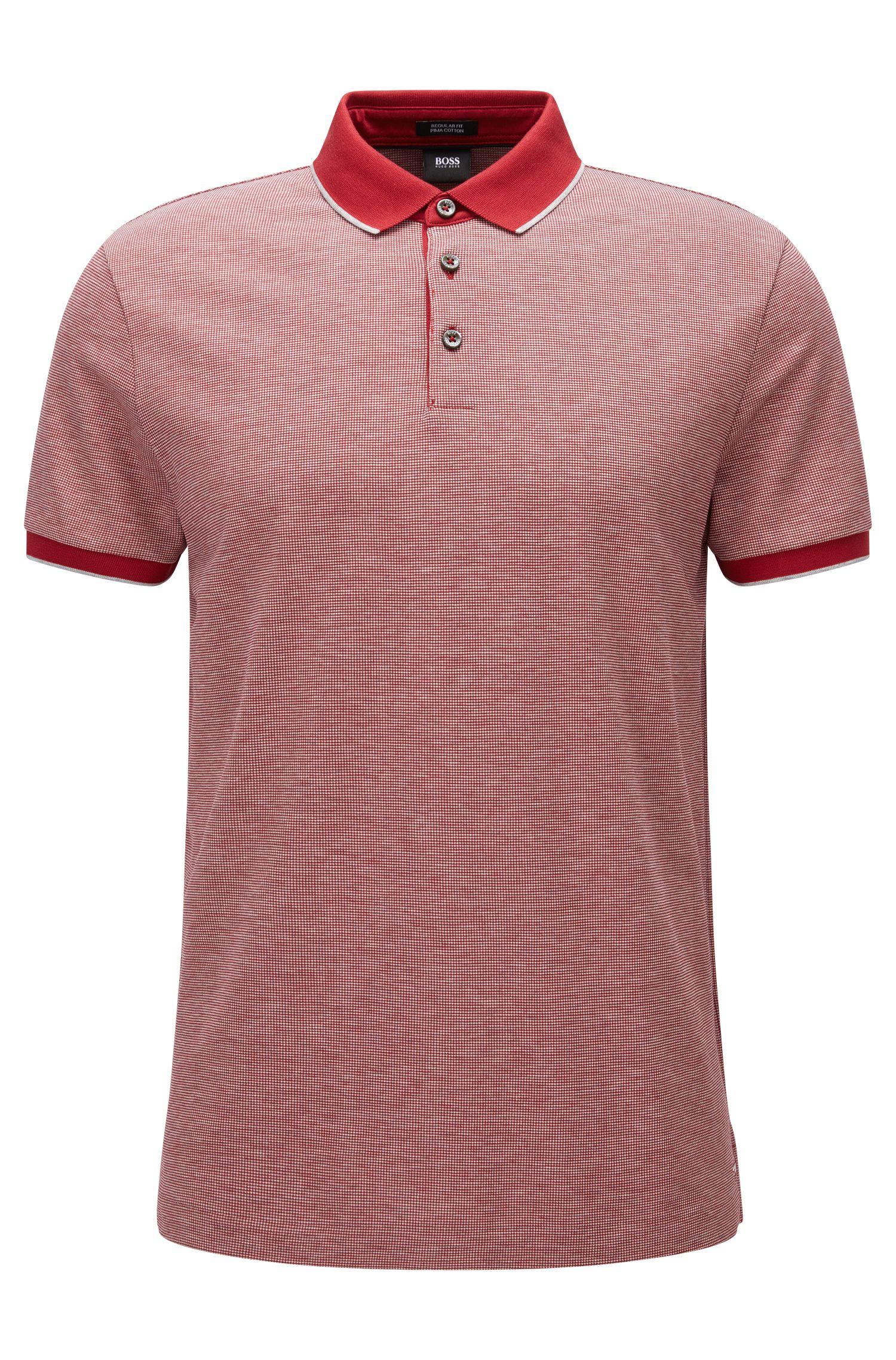 'Pack'   Regular Fit, Birdseye Pima Cotton Polo