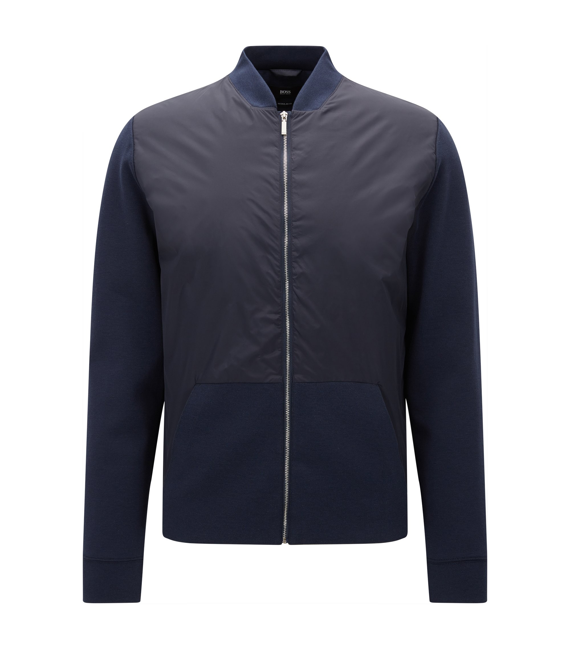 Nylon Jacket | Skiles, Dark Blue