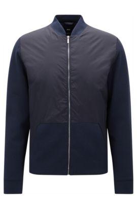'Skiles' | Nylon Jacket, Dark Blue