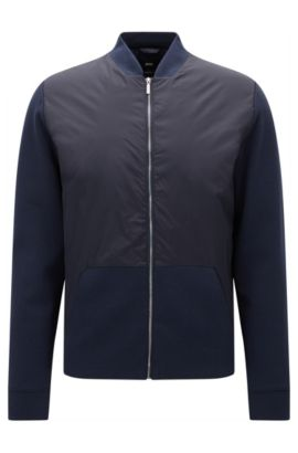'Skiles' | Nylon Jacket, Dark Blue