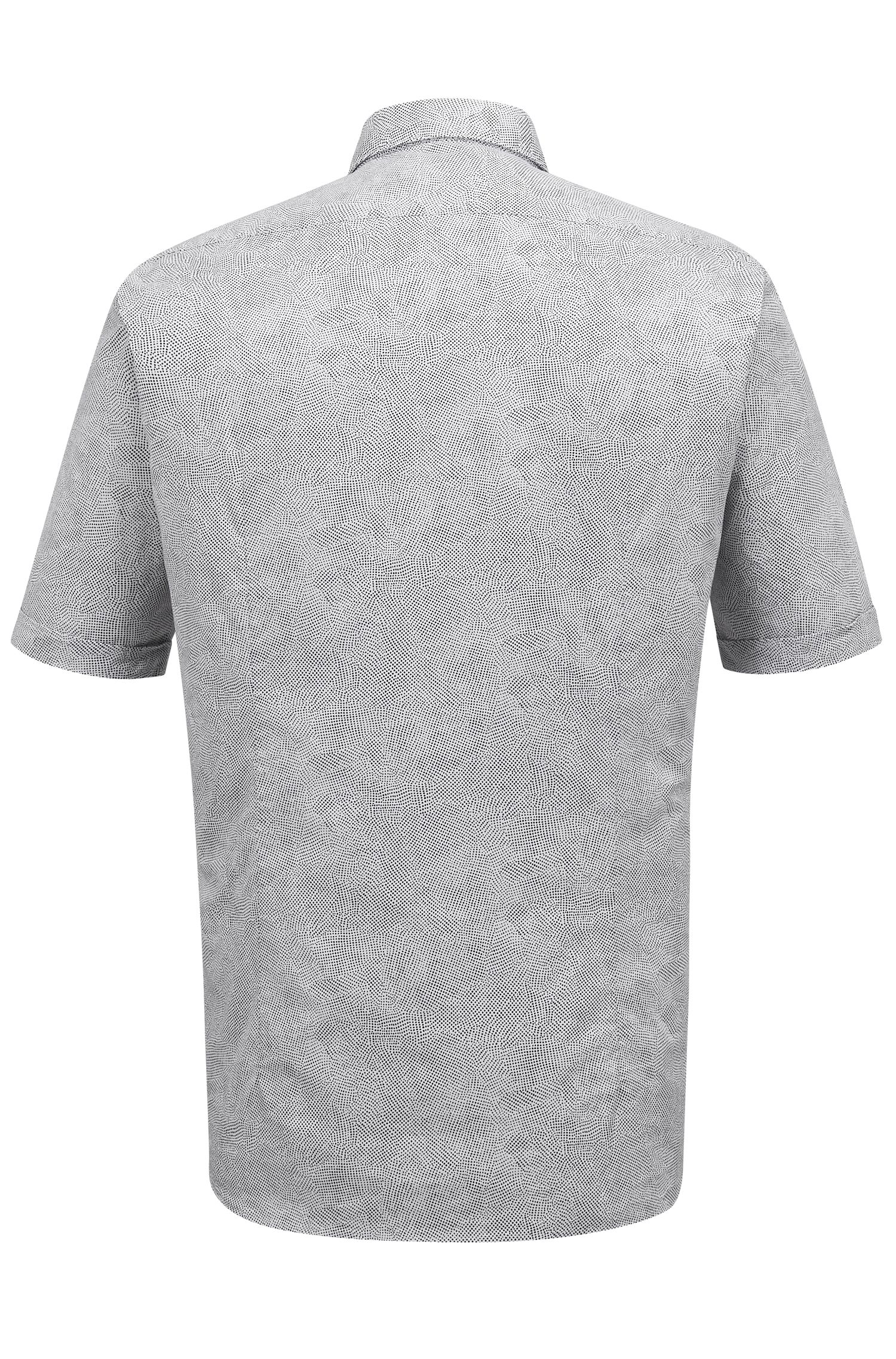 Stretch Cotton Button Down Shirt, Regular Fit | Luka